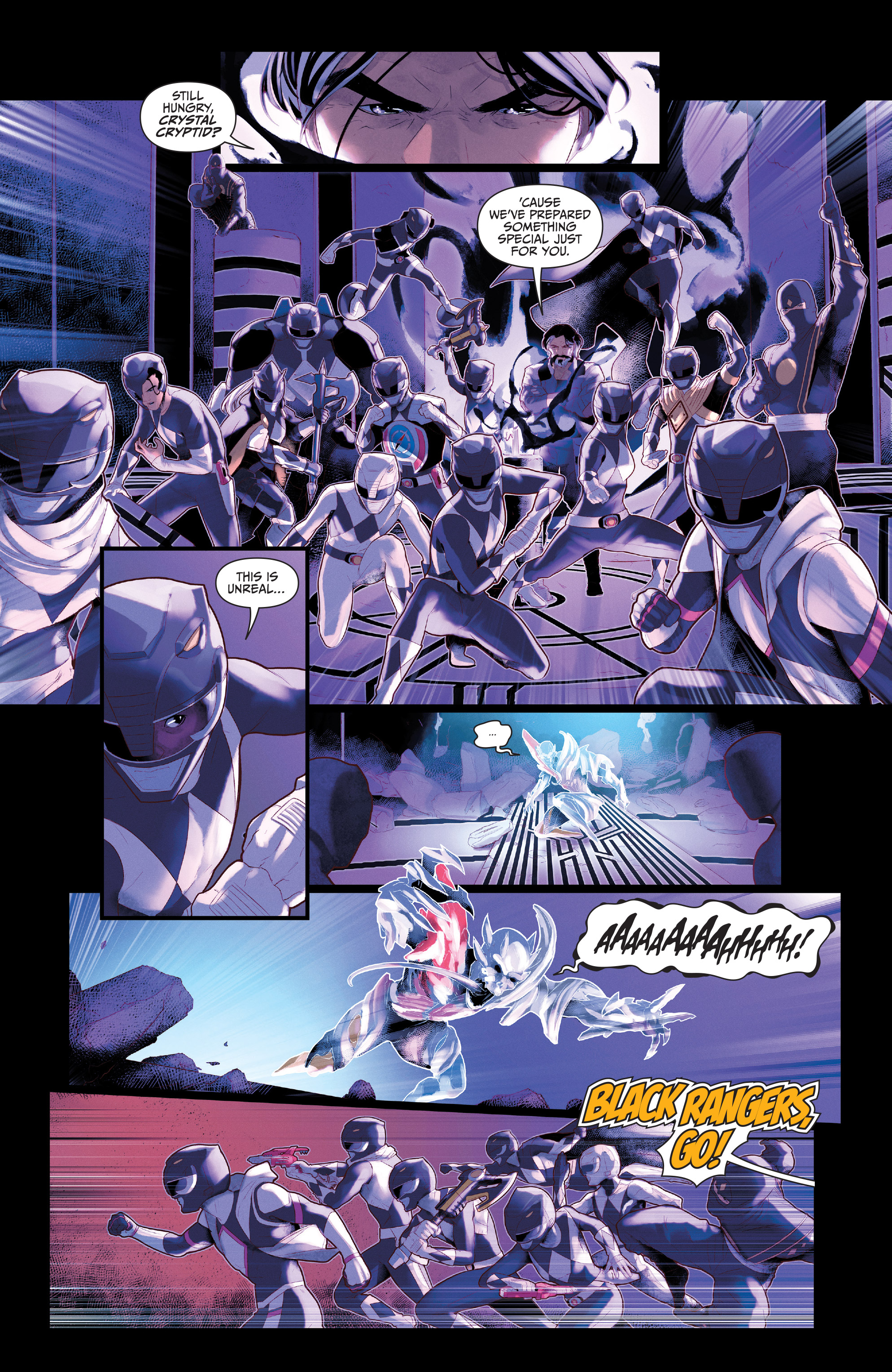 Read online Mighty Morphin Power Rangers comic -  Issue # _Annual 2017 - 24