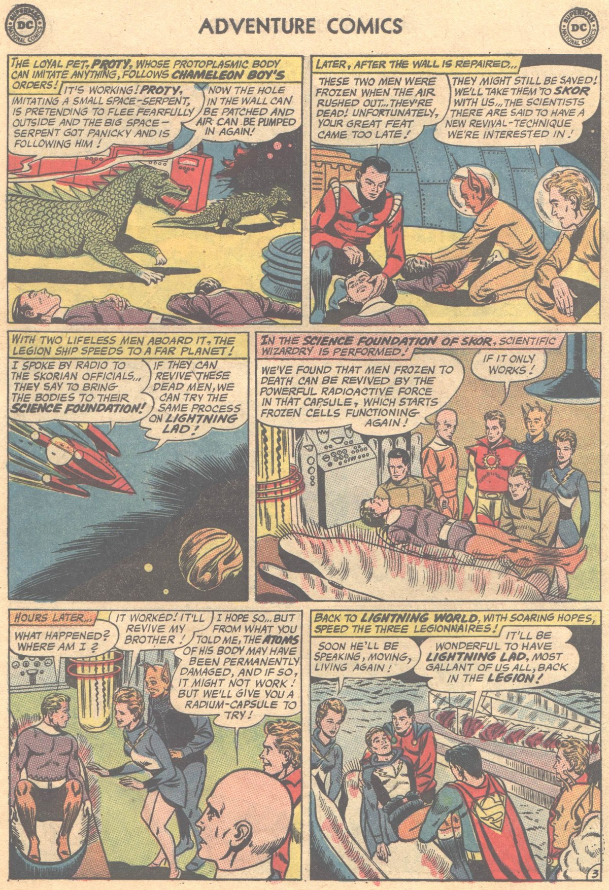 Read online Adventure Comics (1938) comic -  Issue #312 - 14