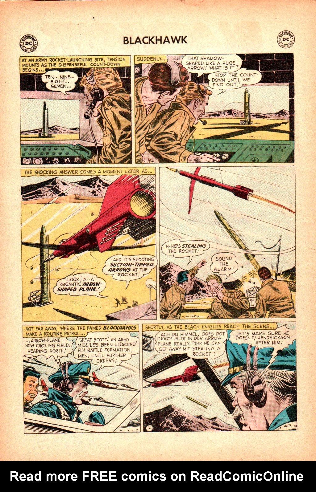Blackhawk (1957) Issue #128 #21 - English 4