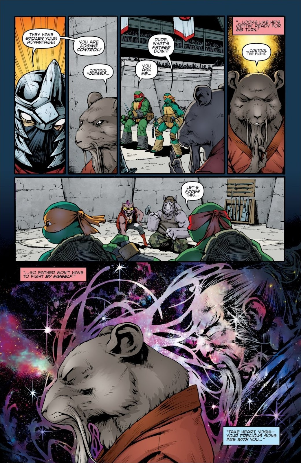 Read online Teenage Mutant Ninja Turtles: The IDW Collection comic -  Issue # TPB 6 (Part 3) - 43