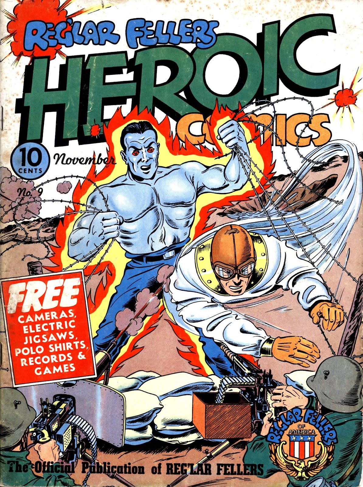 Reg'lar Fellers Heroic Comics issue 9 - Page 1
