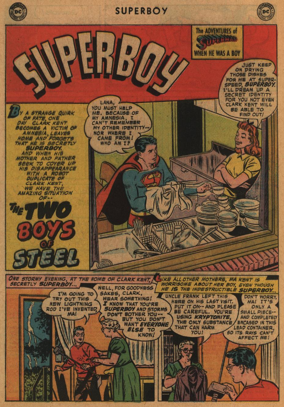 Superboy (1949) issue 63 - Page 22