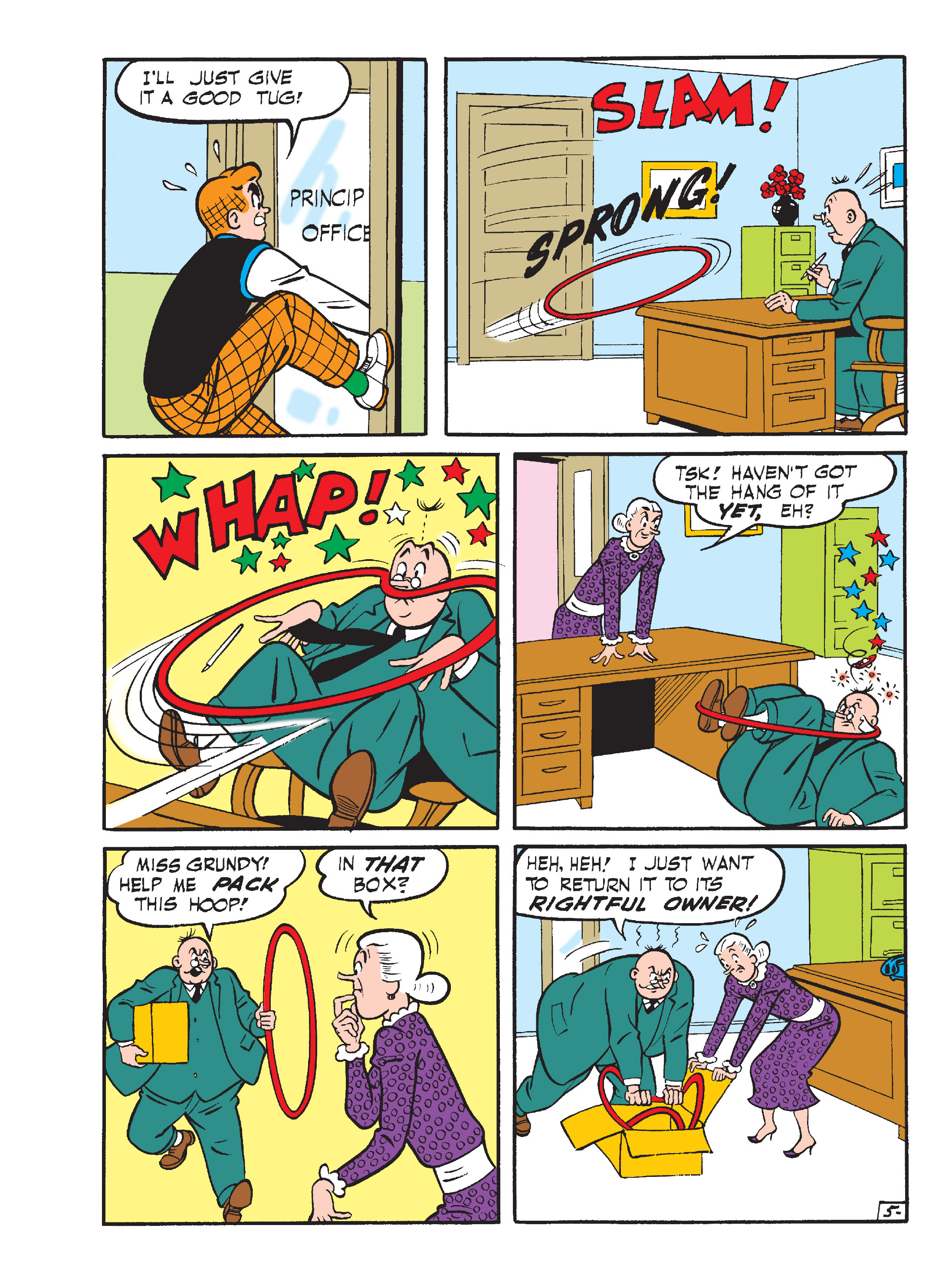 Read online Archie's Funhouse Double Digest comic -  Issue #15 - 146