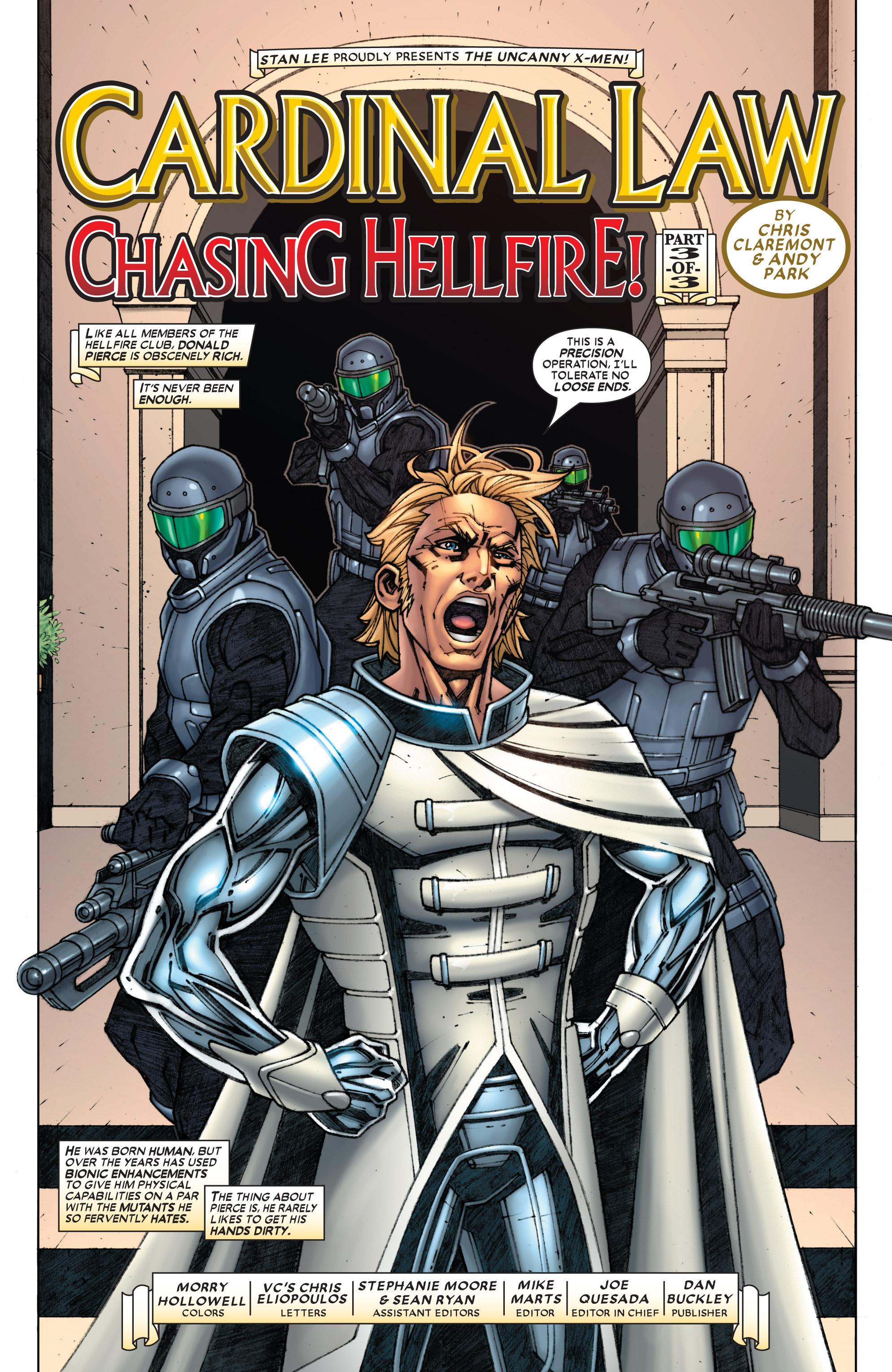 Read online Uncanny X-Men (1963) comic -  Issue #454 - 4