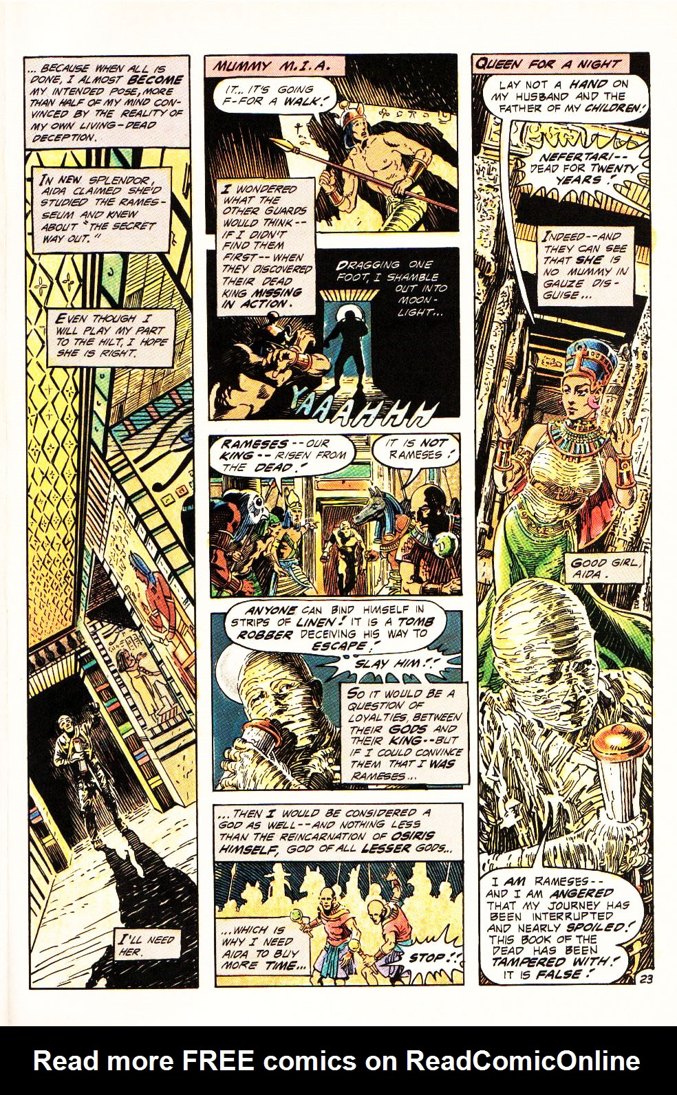 Read online Aztec Ace comic -  Issue #4 - 21