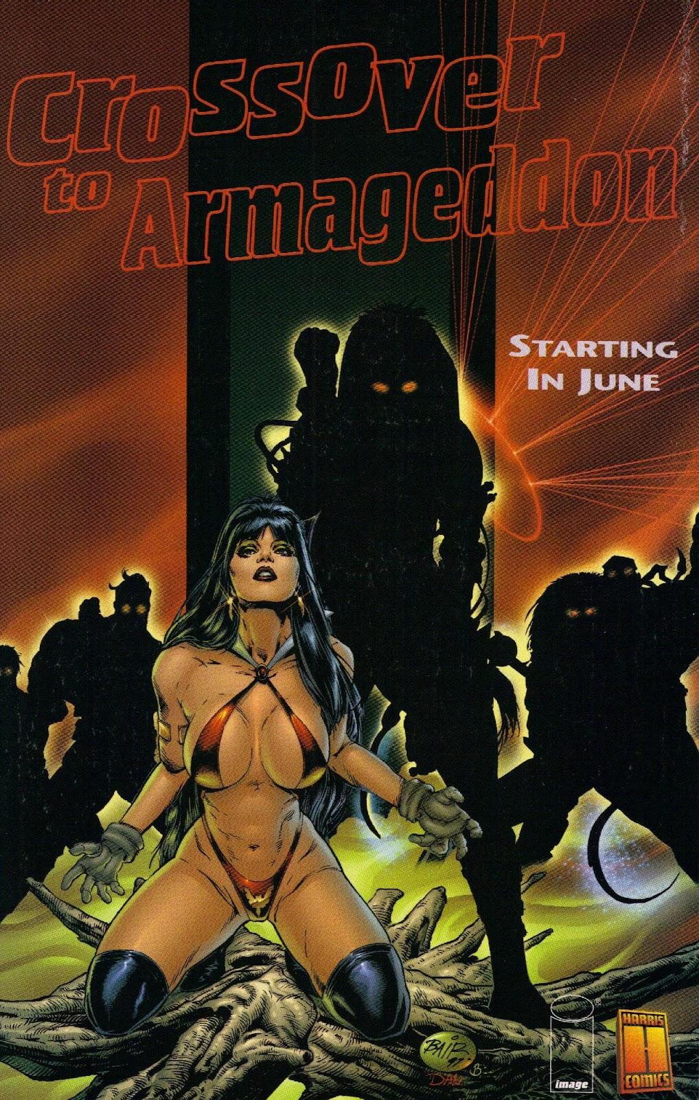 Vampirella vs Hemorrhage issue 1 - Page 29