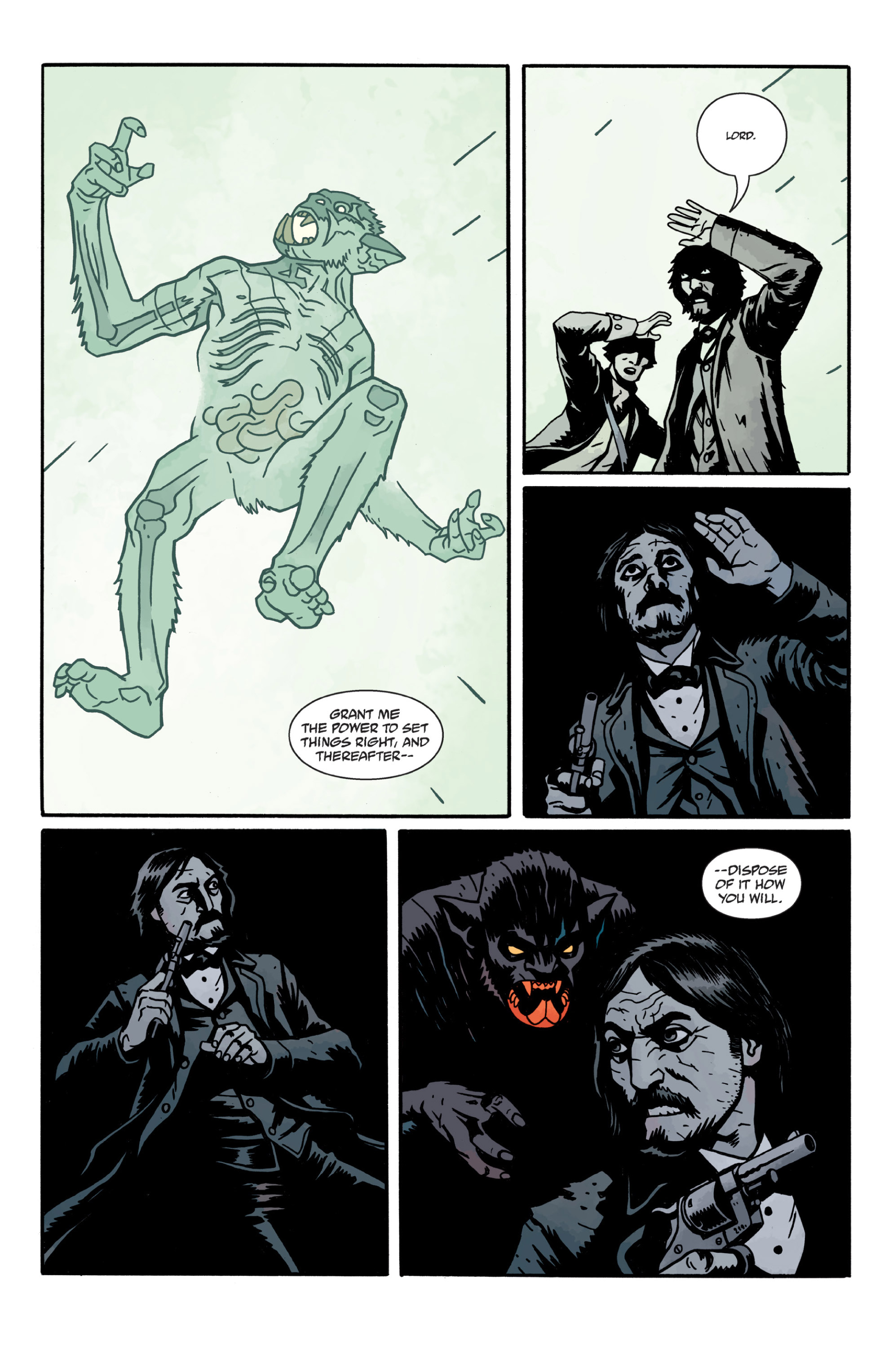 Read online Sir Edward Grey, Witchfinder: In the Service of Angels comic -  Issue # TPB - 112