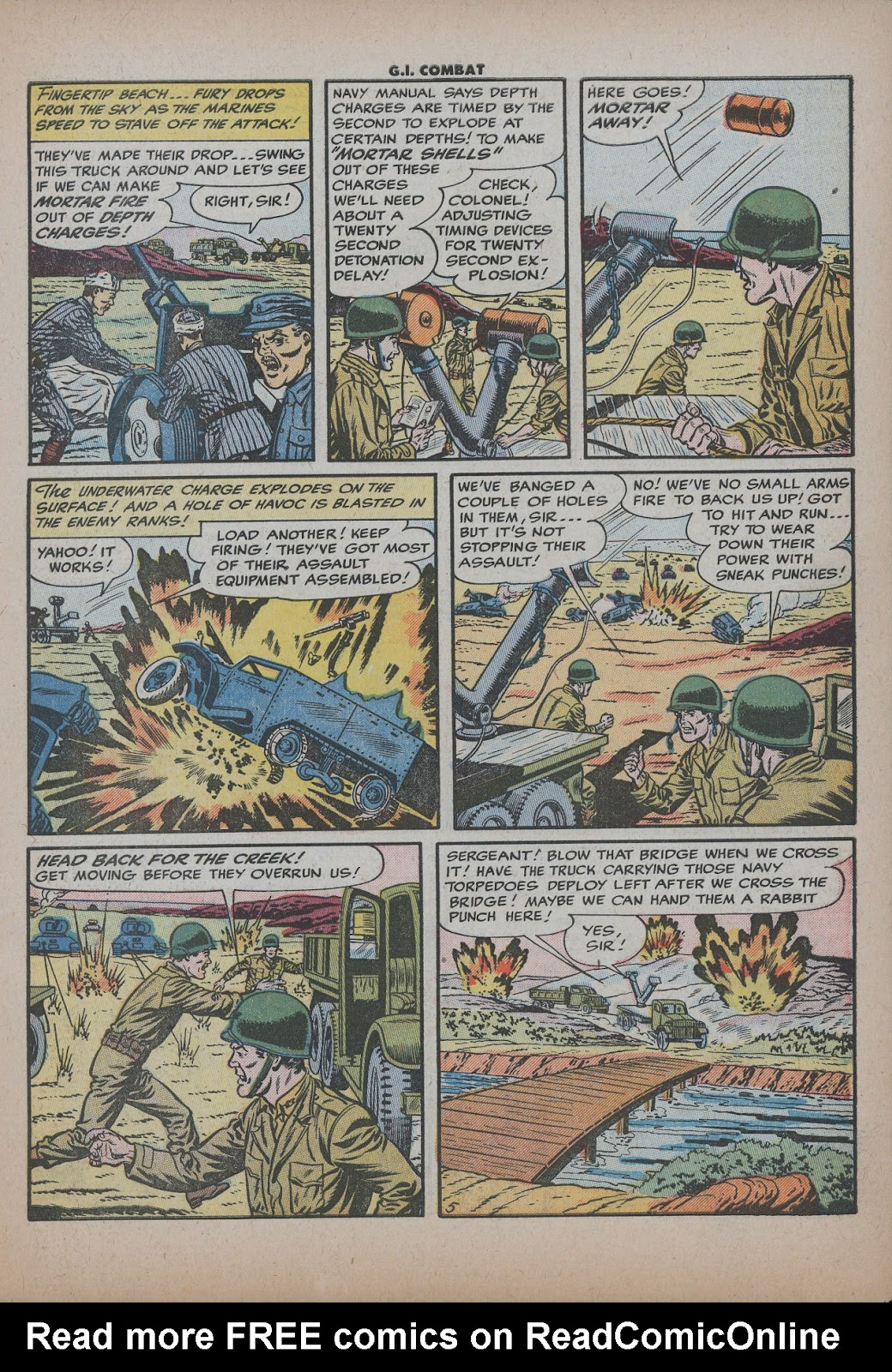 G.I. Combat (1952) issue 26 - Page 7