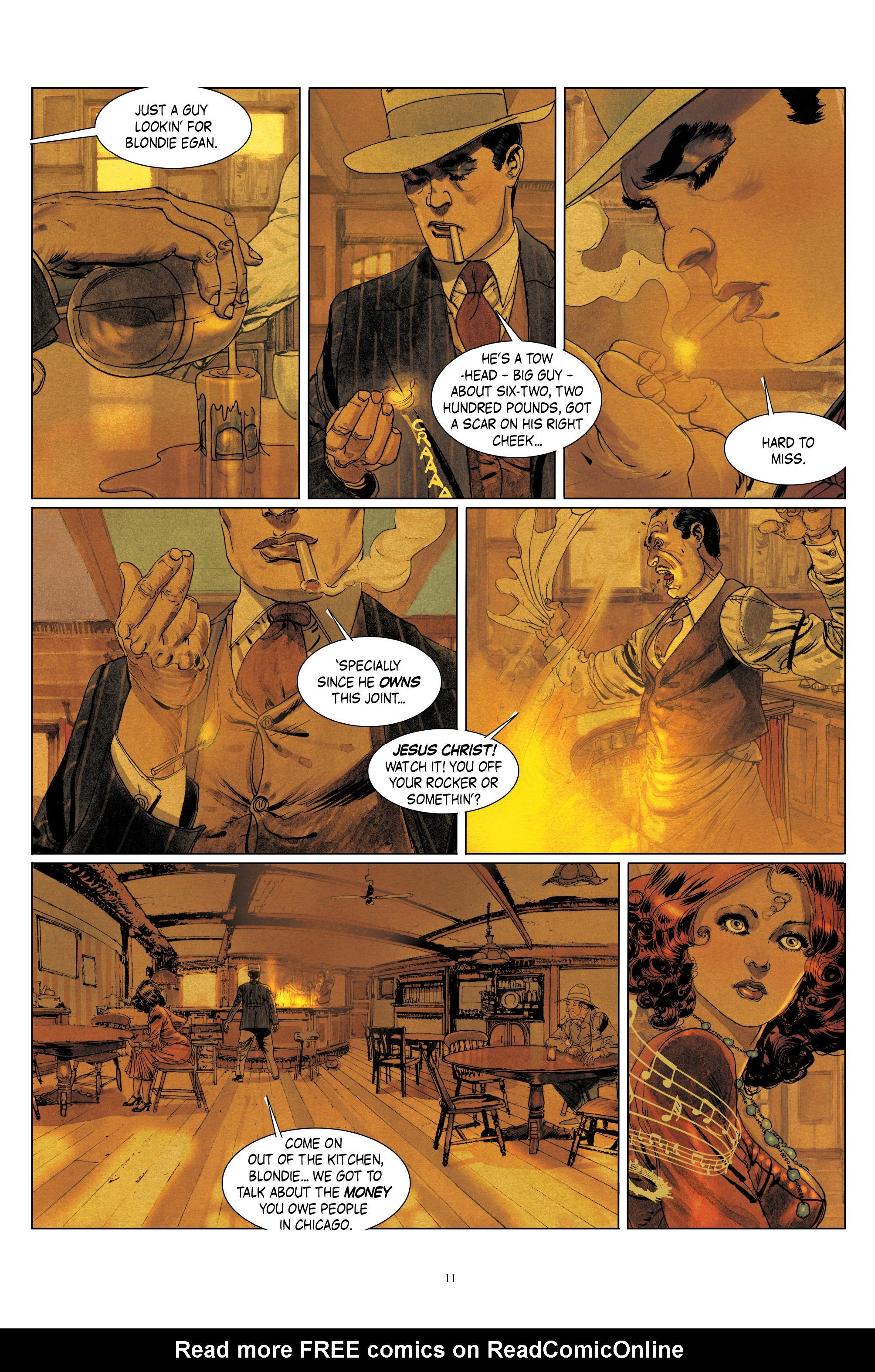 Read online Triggerman comic -  Issue #1 - 16