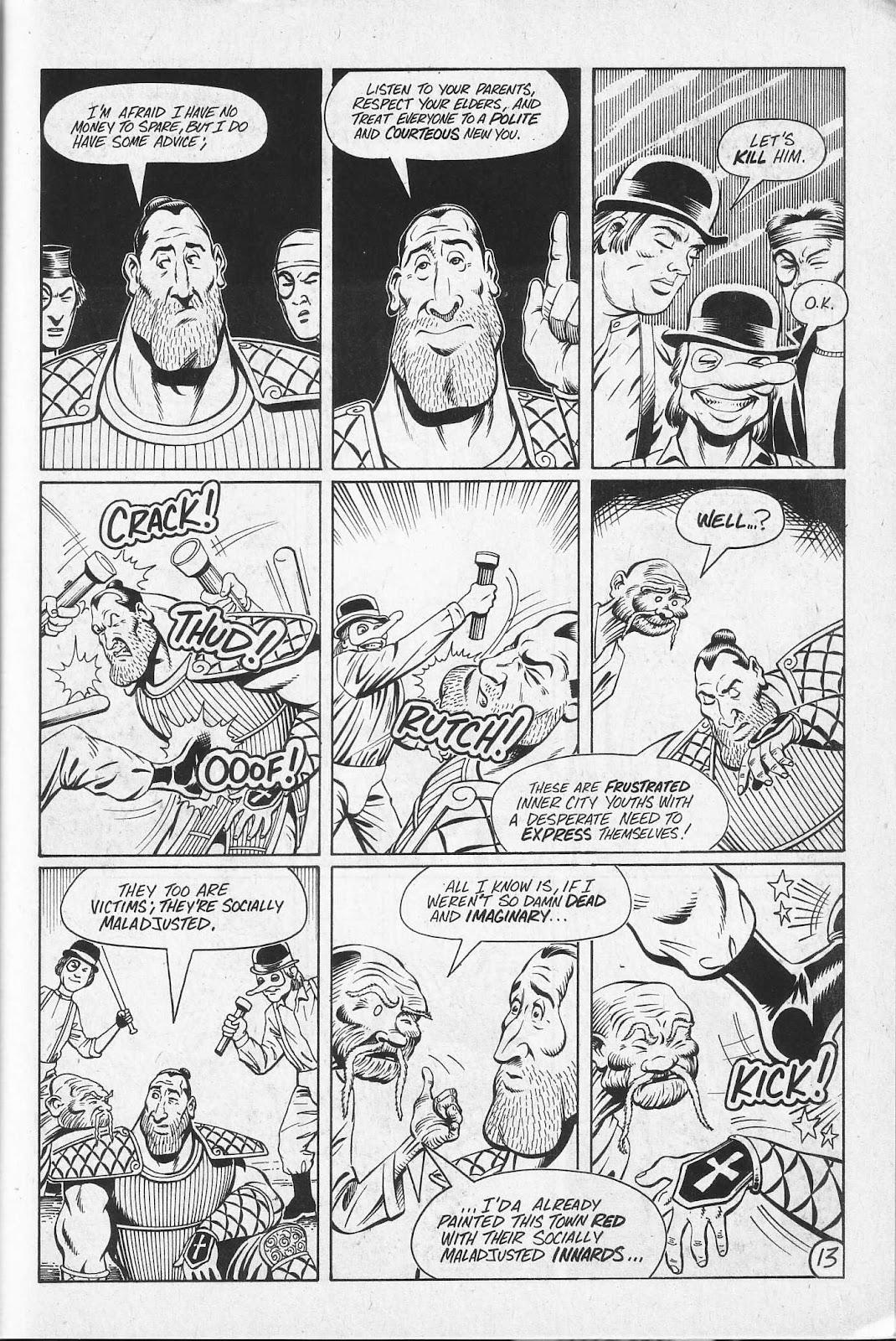 Read online Paul the Samurai (1991) comic -  Issue # TPB - 79