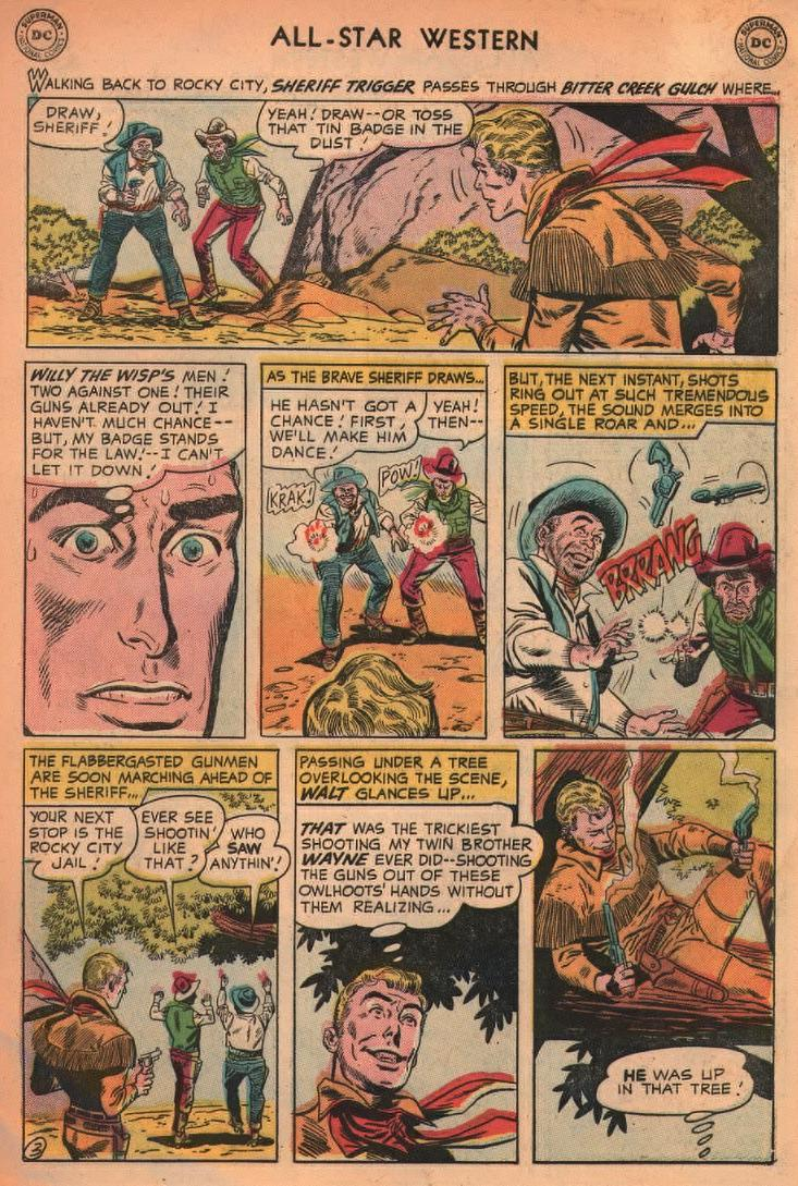 Read online All-Star Western (1951) comic -  Issue #87 - 29