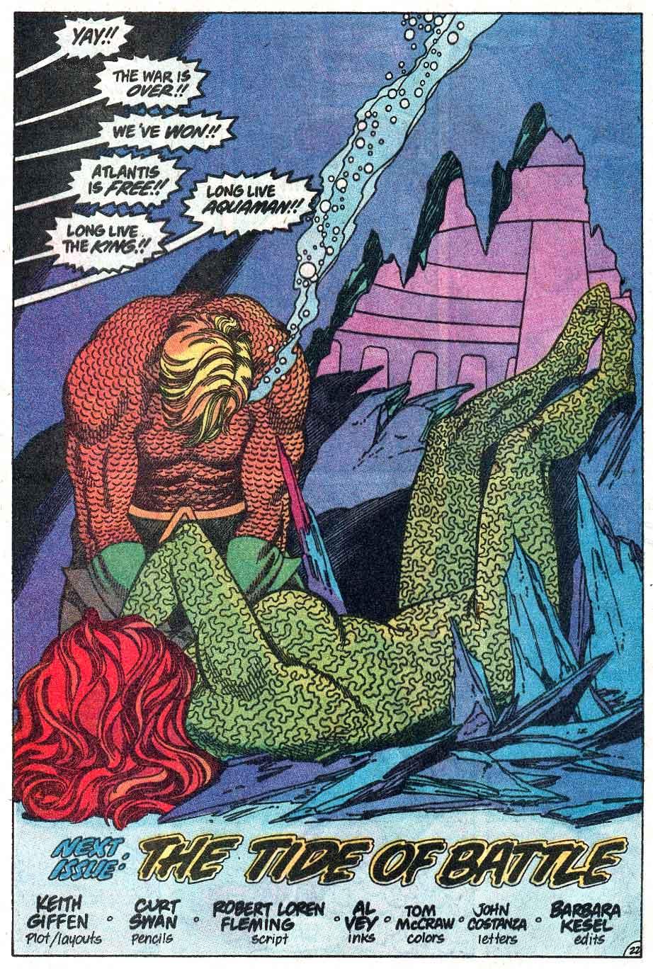 Read online Aquaman (1989) comic -  Issue #3 - 23