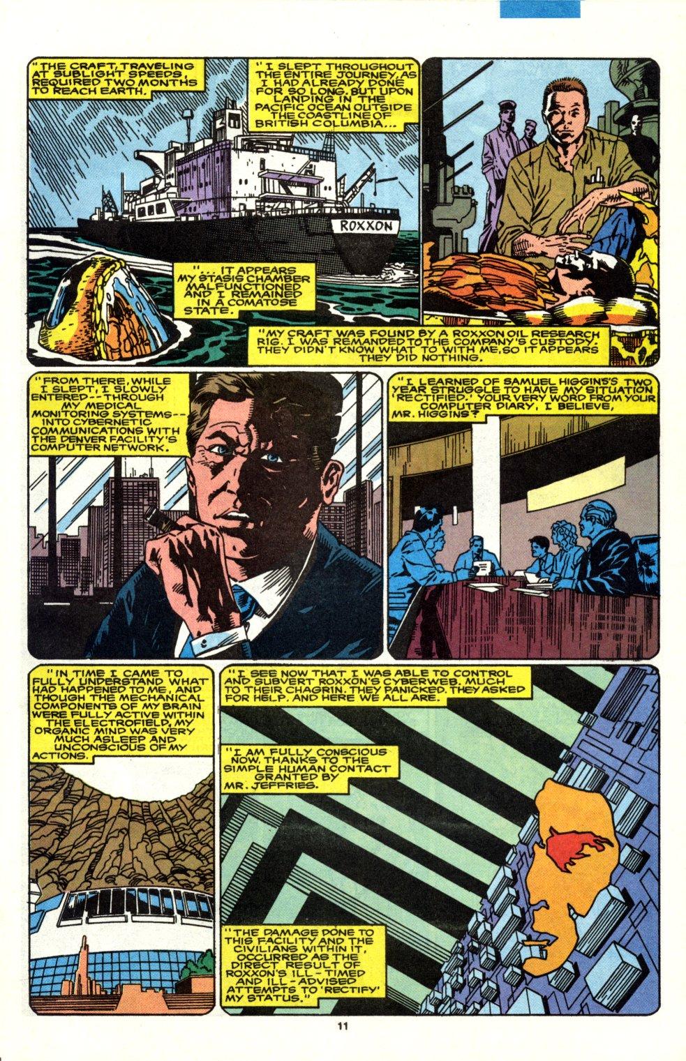 Read online Alpha Flight (1983) comic -  Issue #90 - 9