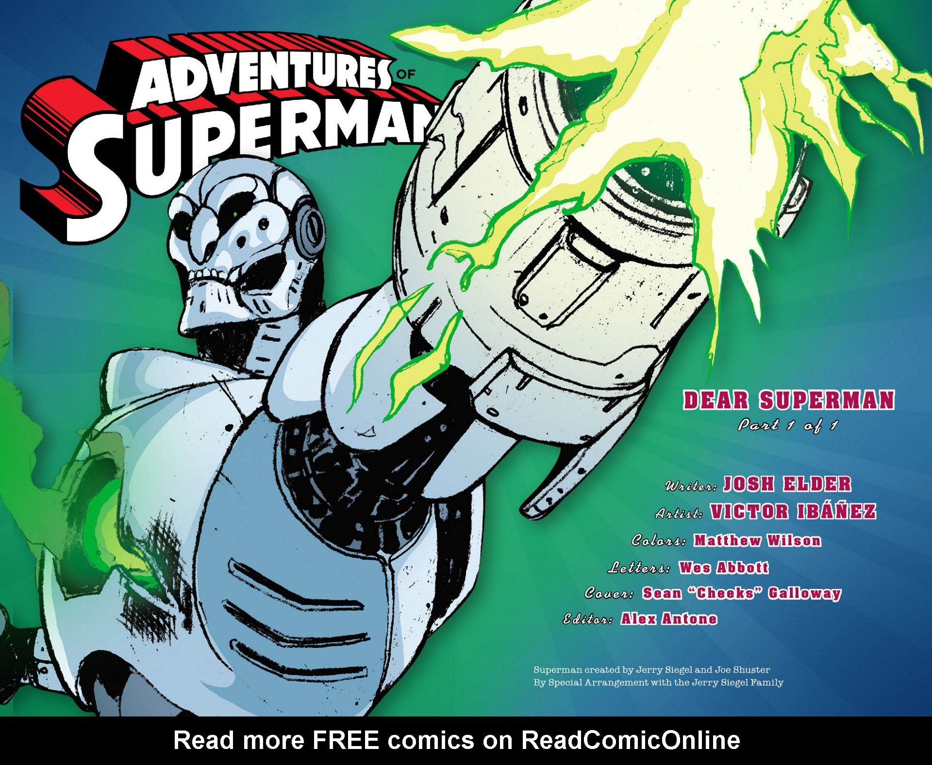 Read online Adventures of Superman [I] comic -  Issue #28 - 2