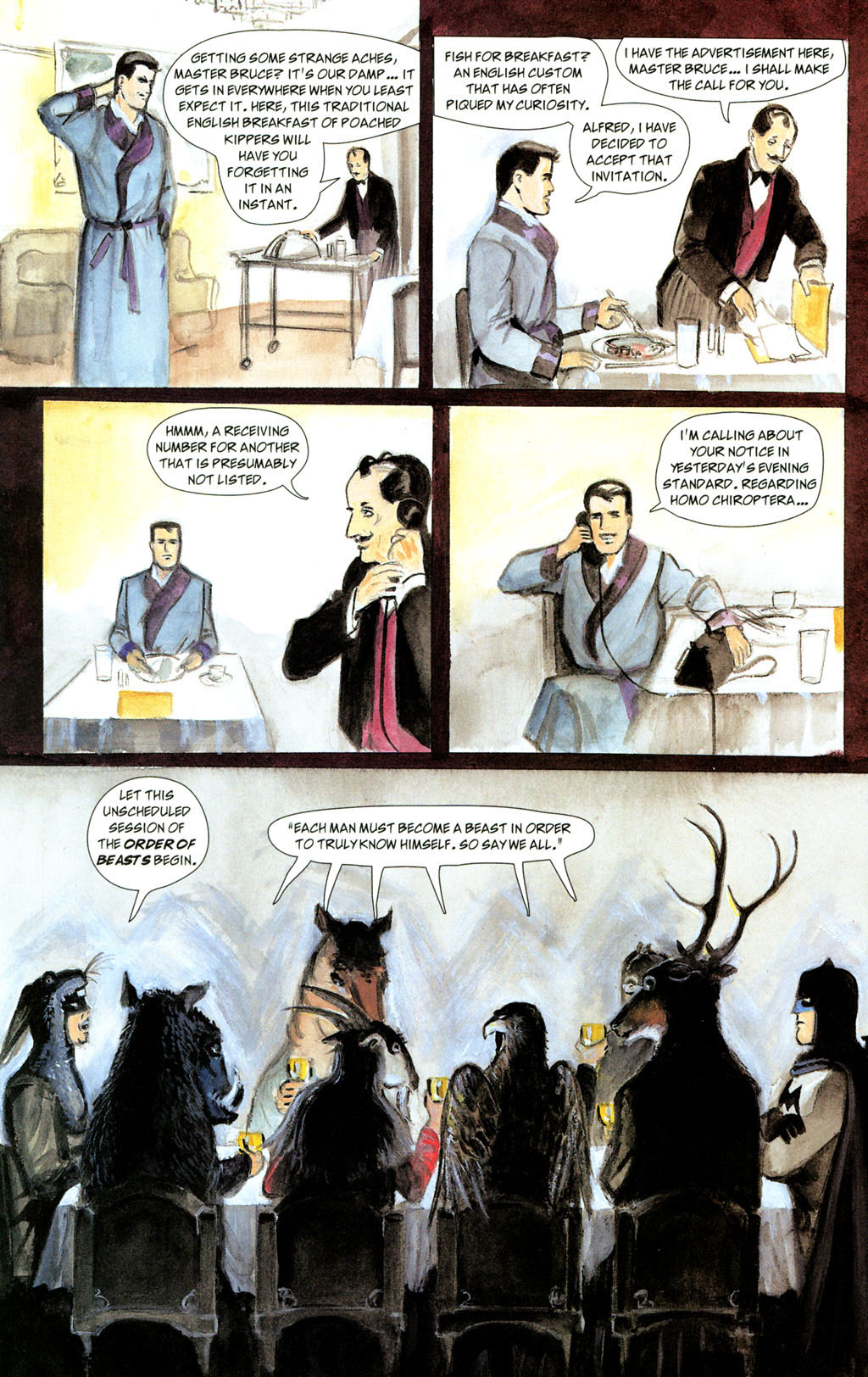 Read online Batman: The Order of Beasts comic -  Issue # Full - 28