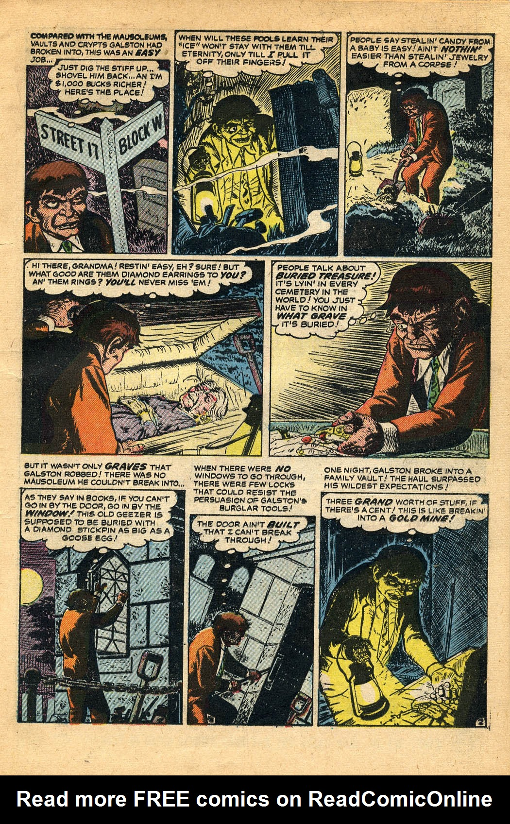 Read online Adventures into Weird Worlds comic -  Issue #29 - 19