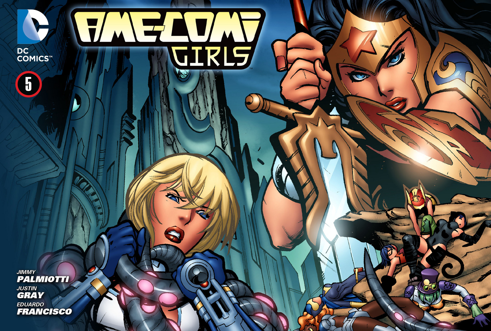 Read online Ame-Comi Girls comic -  Issue #5 - 1