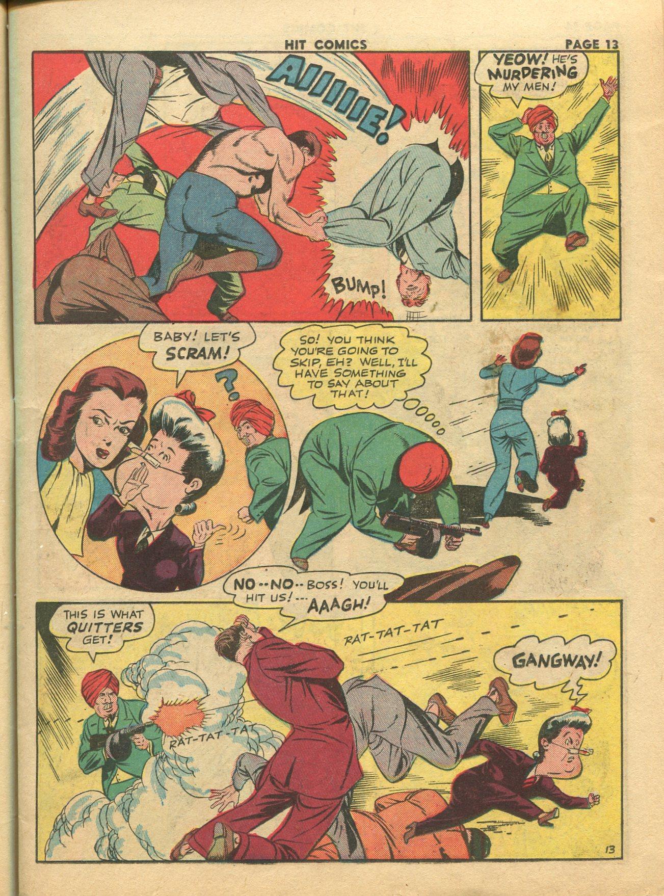 Read online Hit Comics comic -  Issue #28 - 16