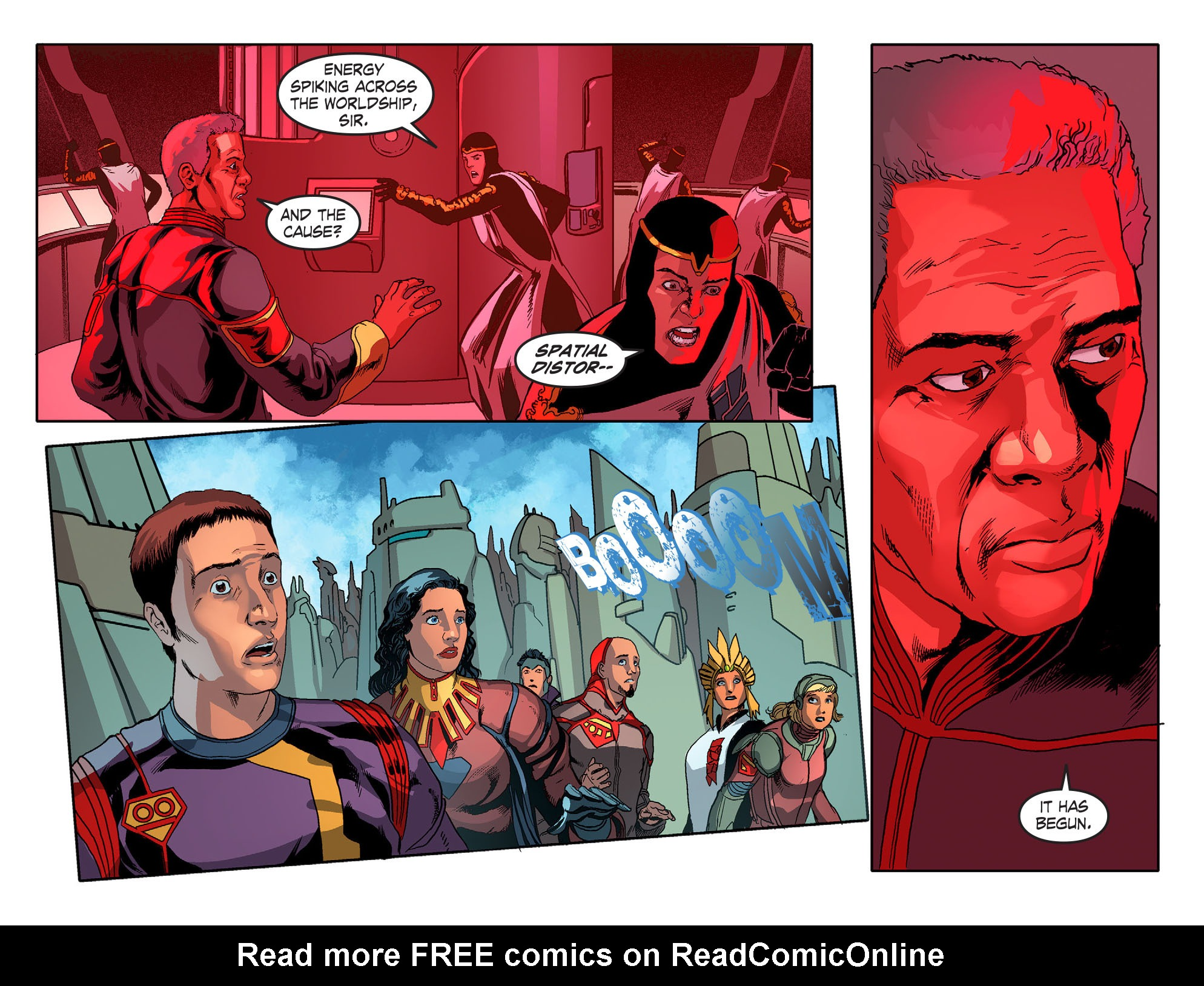 Read online Smallville: Season 11 comic -  Issue #51 - 12