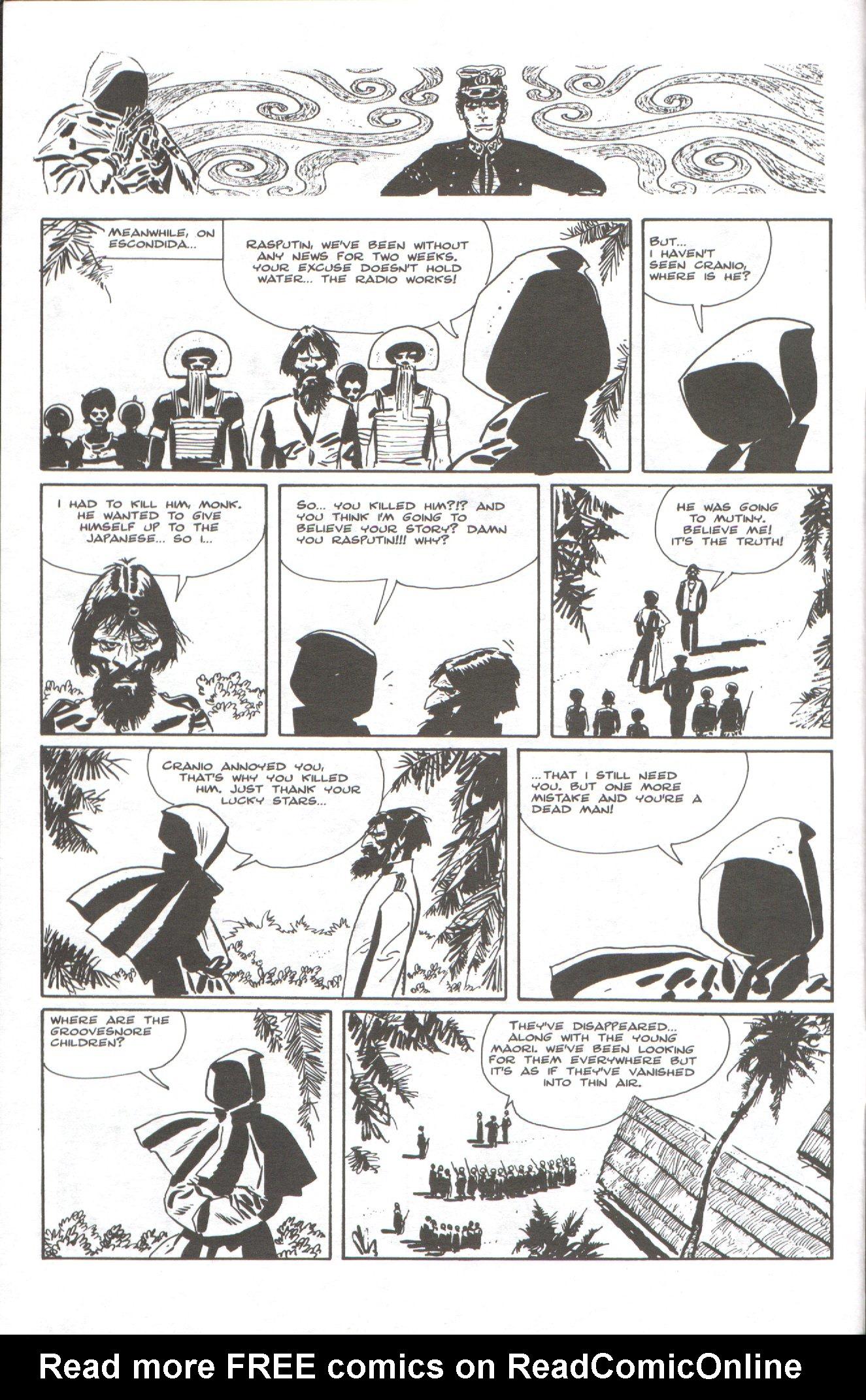 Read online Corto Maltese: Ballad of the Salt Sea comic -  Issue #6 - 4