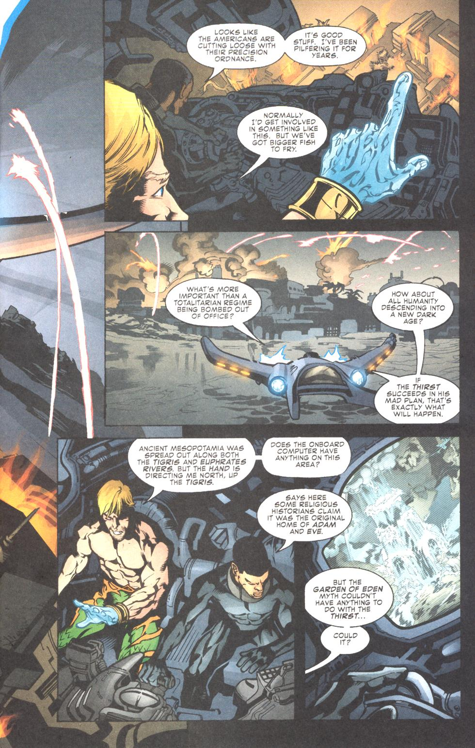 Read online Aquaman (2003) comic -  Issue #11 - 7