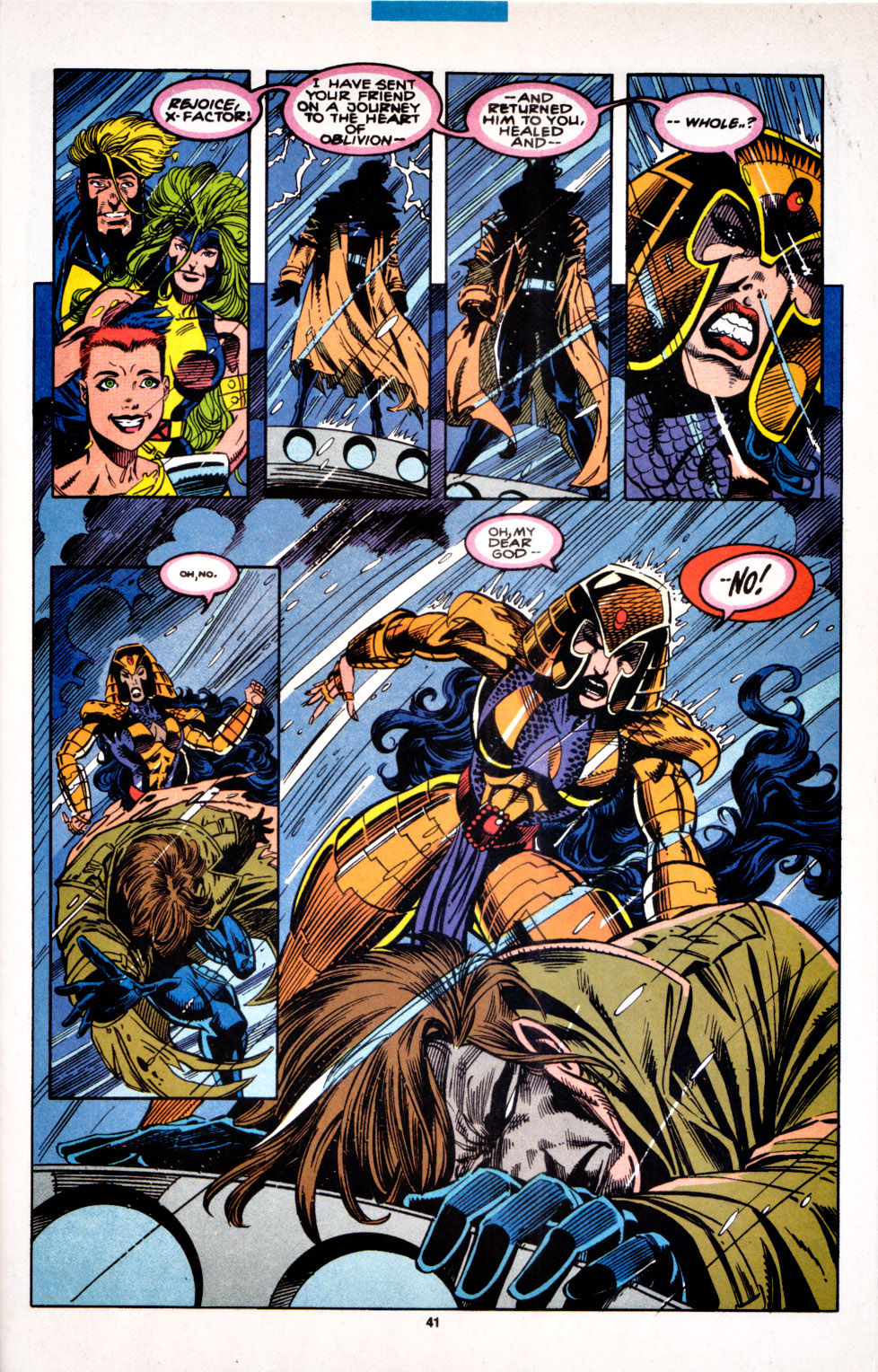 Read online X-Factor (1986) comic -  Issue #100 - 34