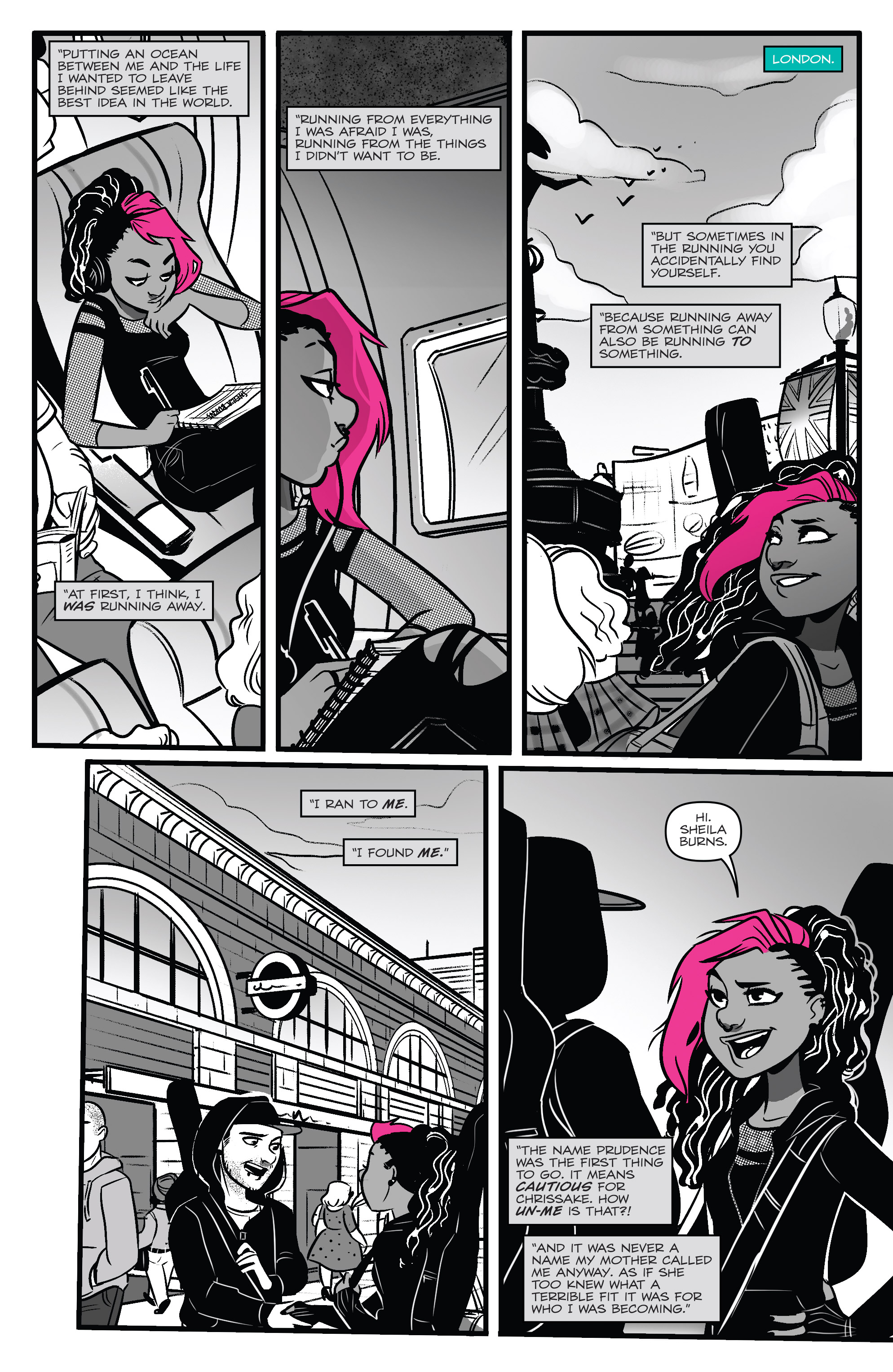 Read online Jem: The Misfits comic -  Issue #5 - 13