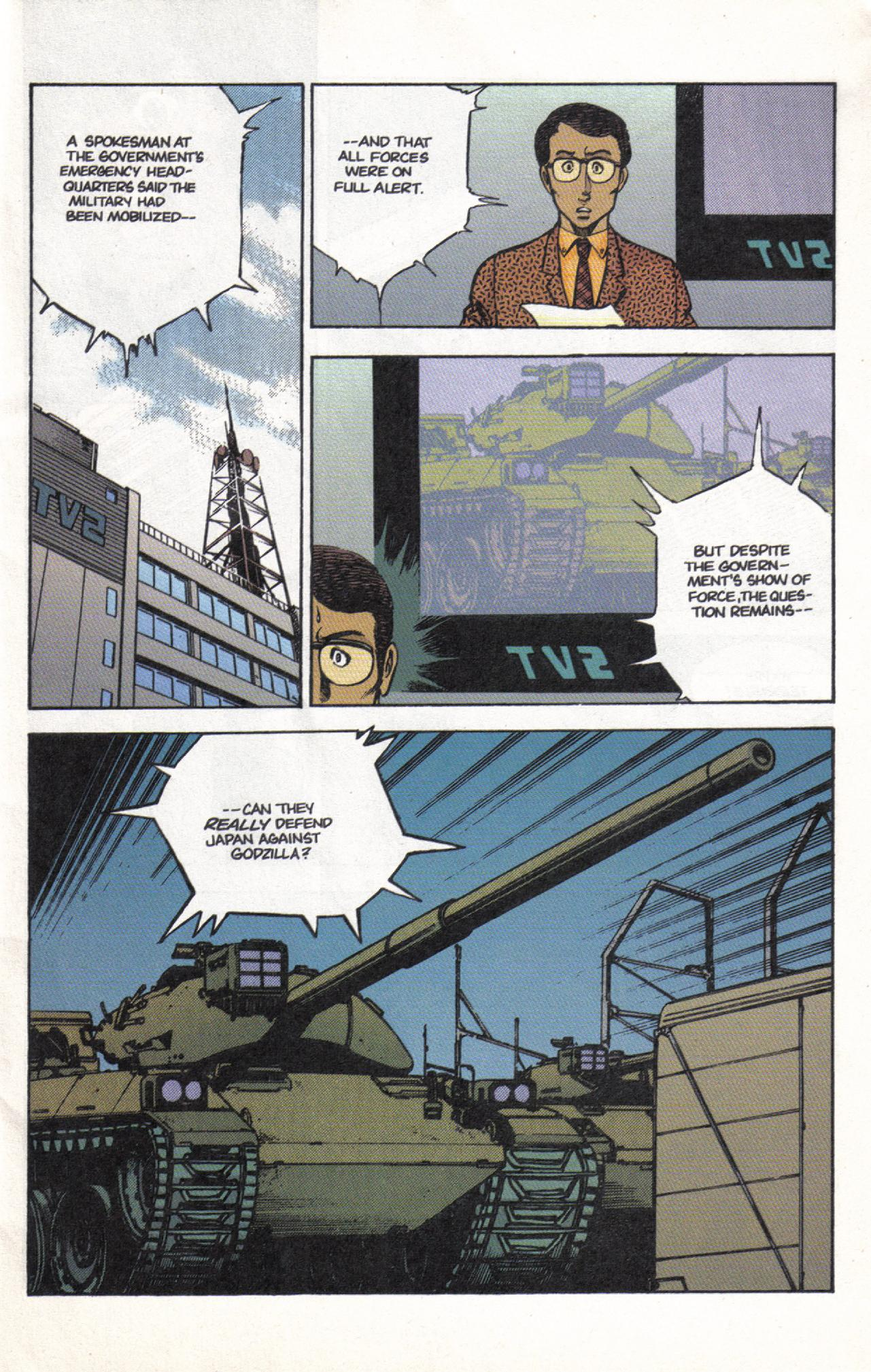 Read online Dark Horse Classics: Terror of Godzilla comic -  Issue #3 - 5