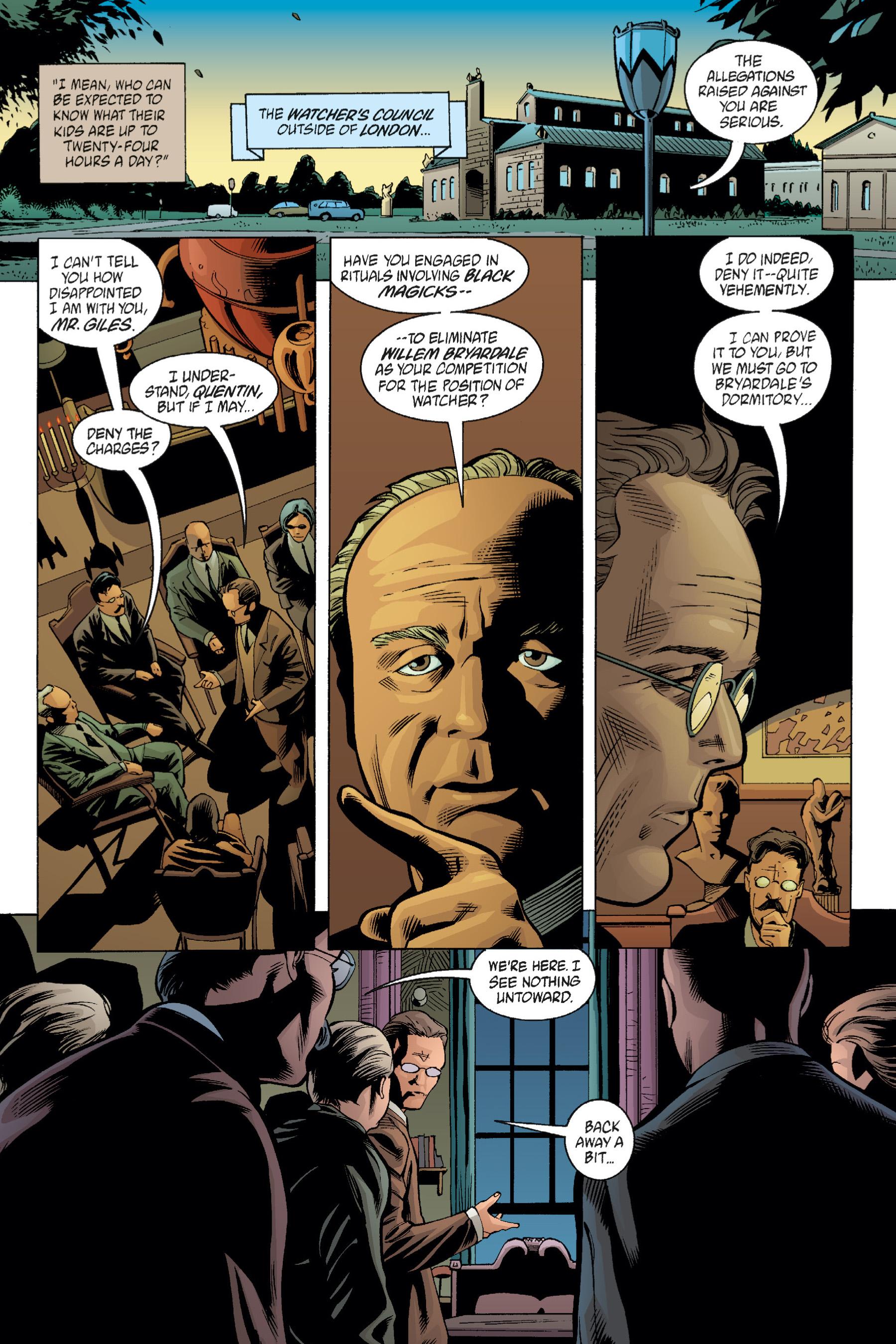Read online Buffy the Vampire Slayer: Omnibus comic -  Issue # TPB 1 - 157