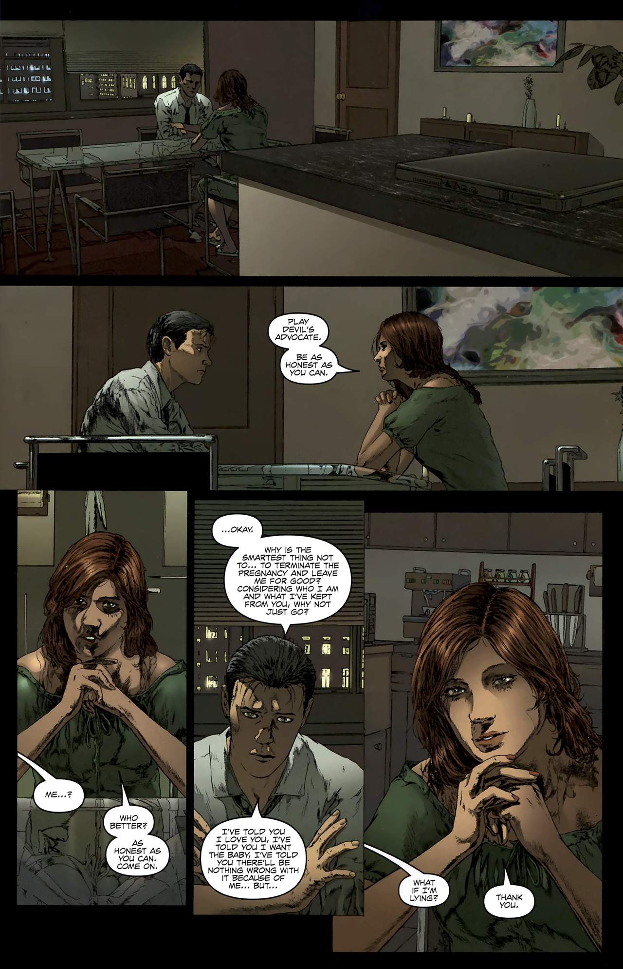 Read online Chronicles of Wormwood: The Last Battle comic -  Issue #5 - 4