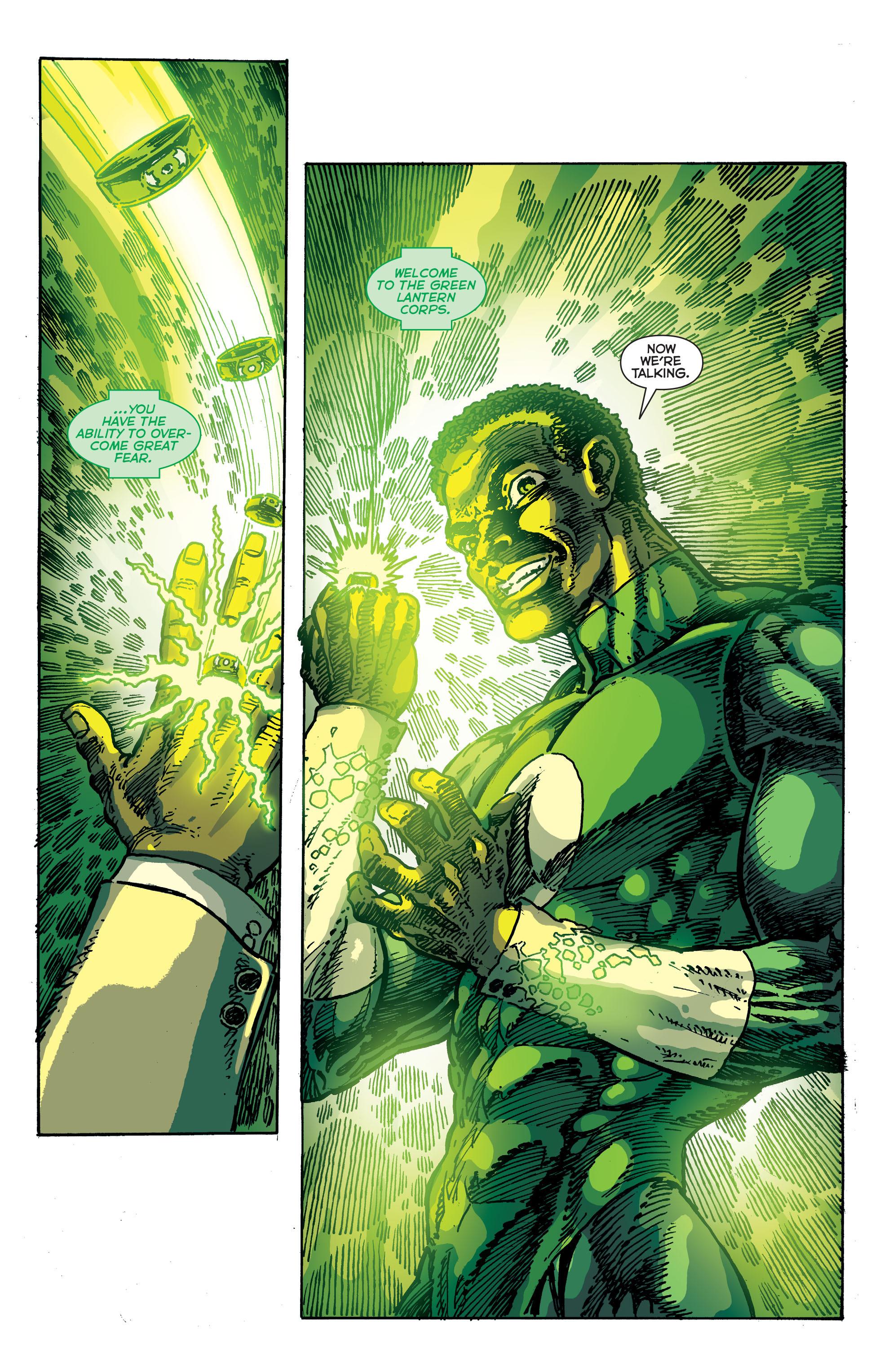 Read online Secret Origins (2014) comic -  Issue #9 - 31