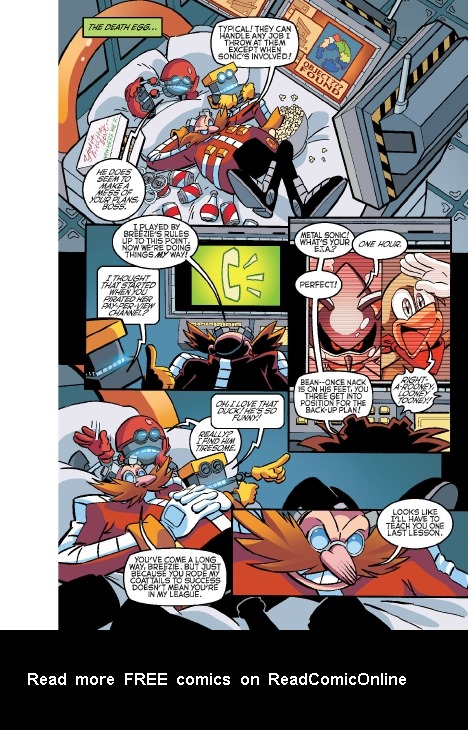 Read online Sonic Comics Spectacular: Speed of Sound comic -  Issue # Full - 55