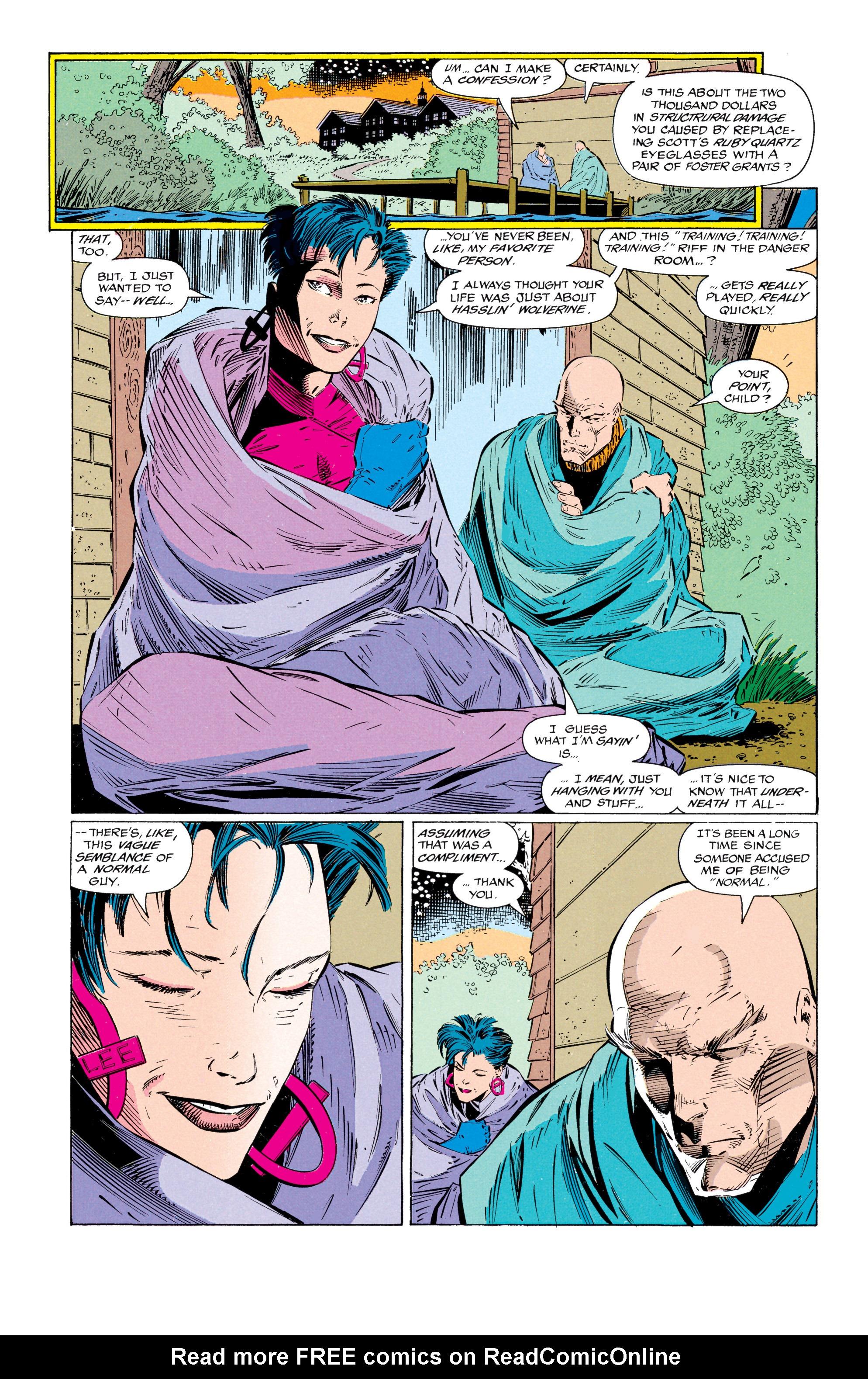 Read online Uncanny X-Men (1963) comic -  Issue #297 - 19