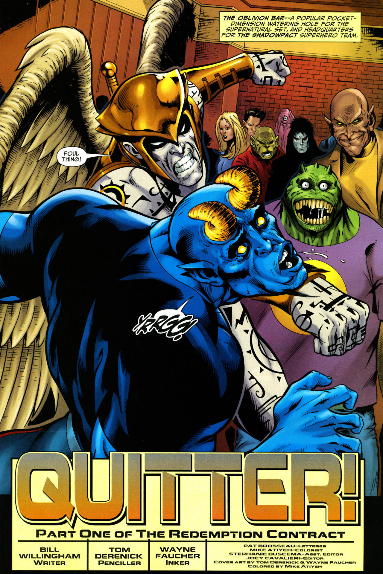 Read online Shadowpact comic -  Issue #14 - 2