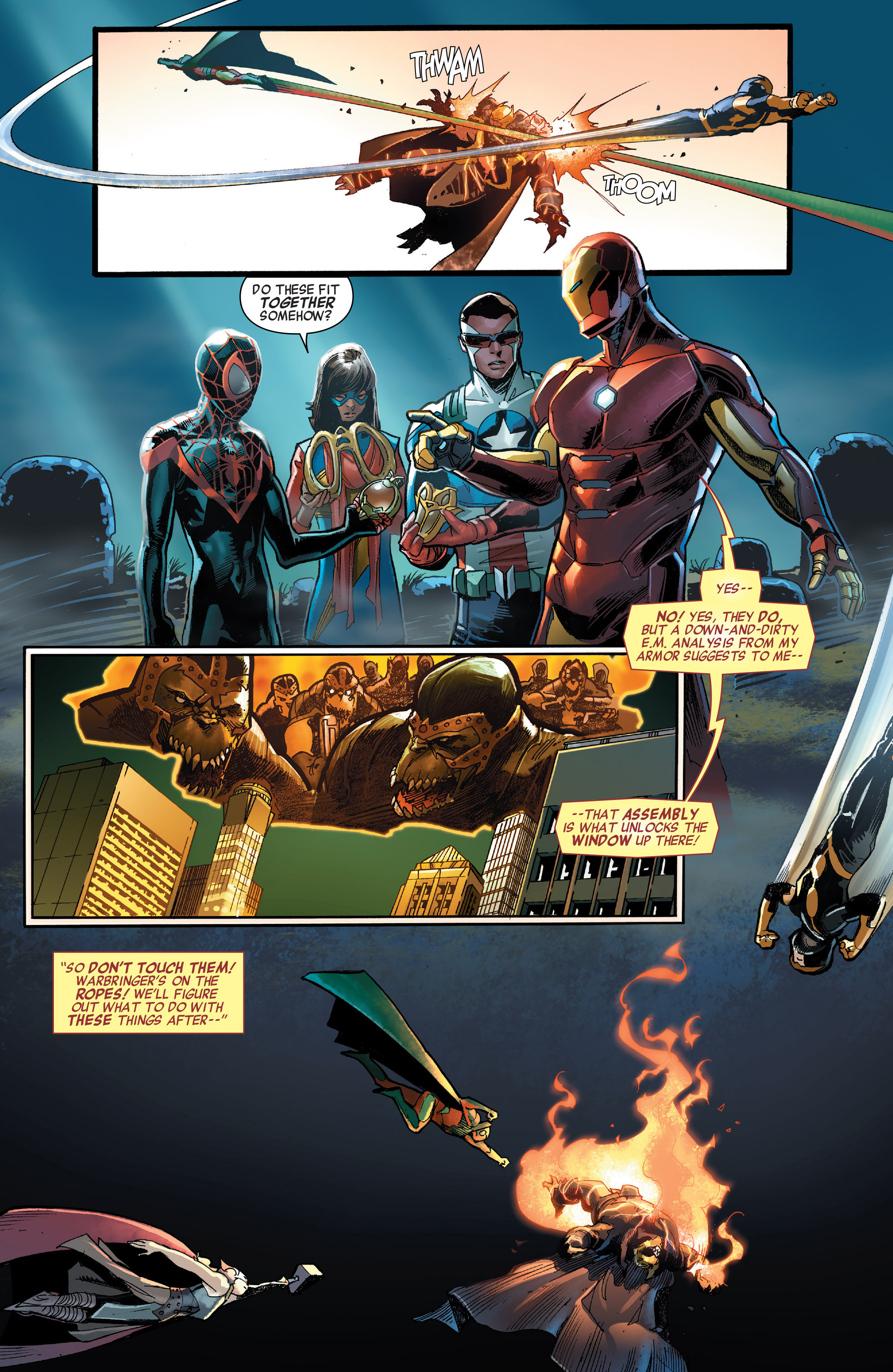 Read online All-New, All-Different Avengers comic -  Issue #3 - 11