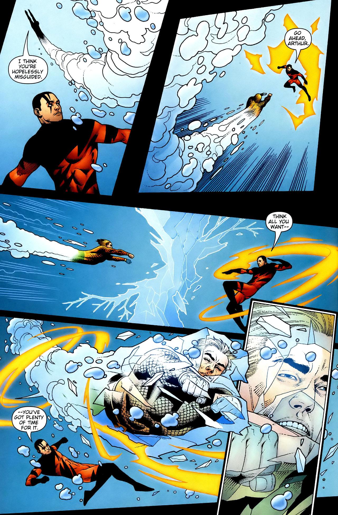 Read online Aquaman (2003) comic -  Issue #34 - 5