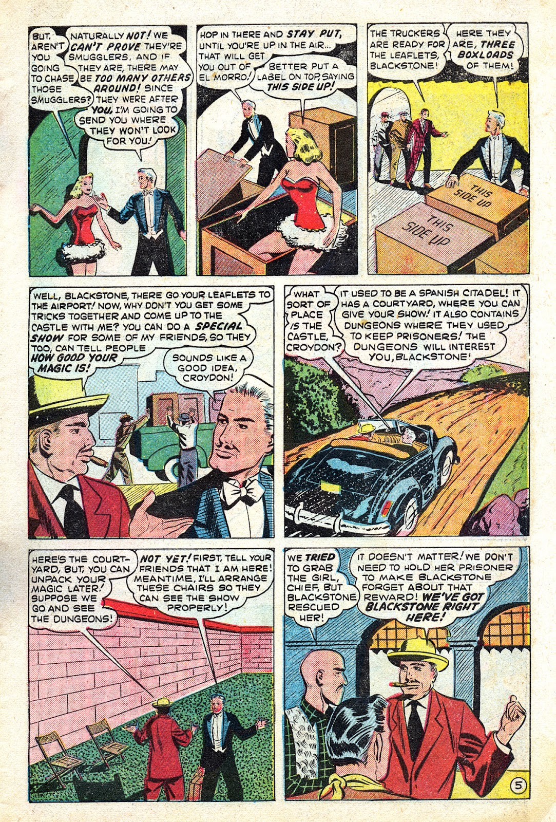 Read online Blackstone the Magician comic -  Issue #4 - 7
