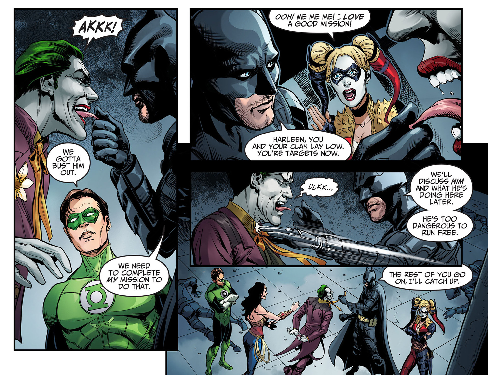 Read online Injustice: Ground Zero comic -  Issue #6 - 17