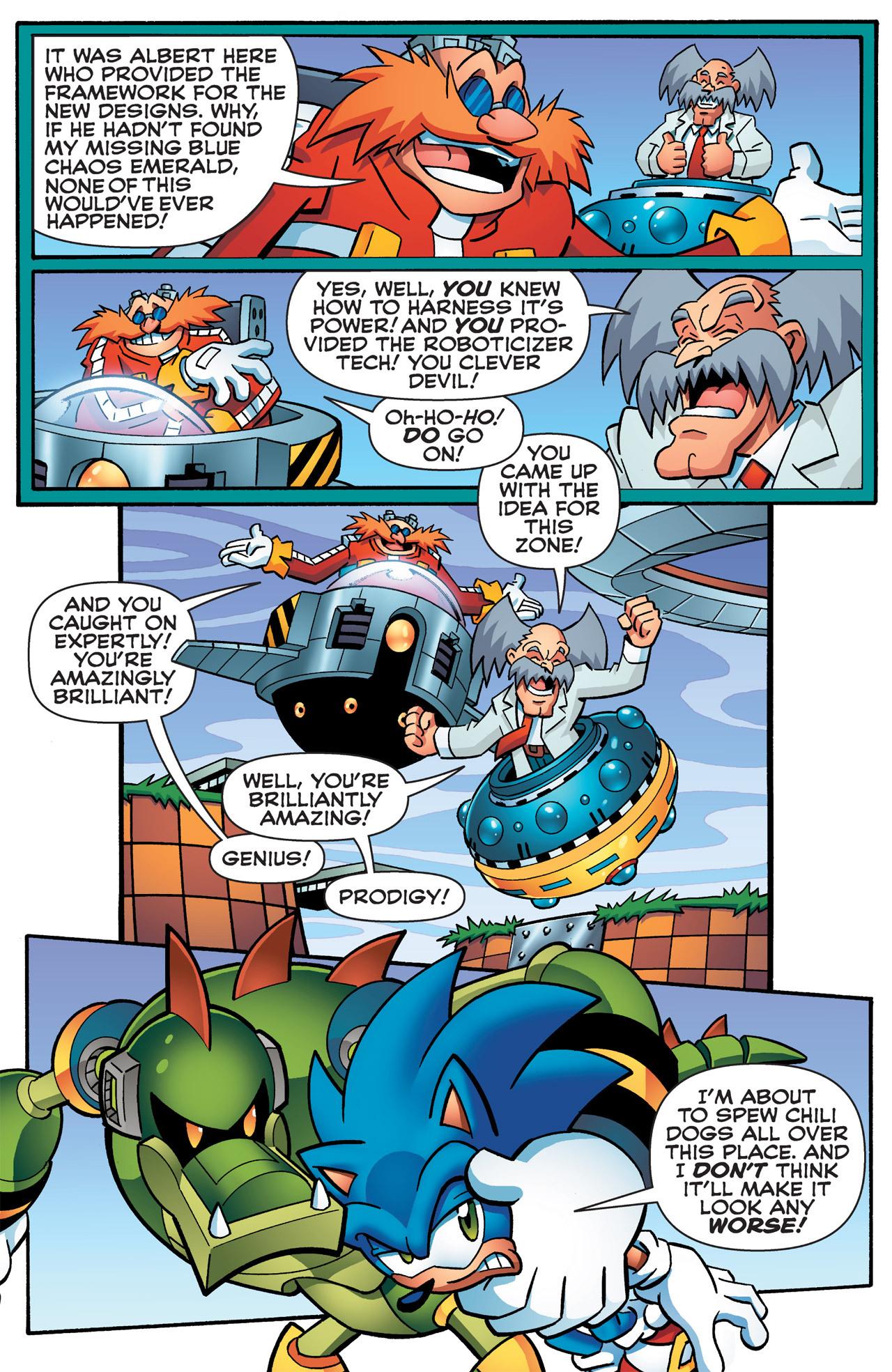 Read online Sonic Mega Man Worlds Collide comic -  Issue # Vol 2 - 37