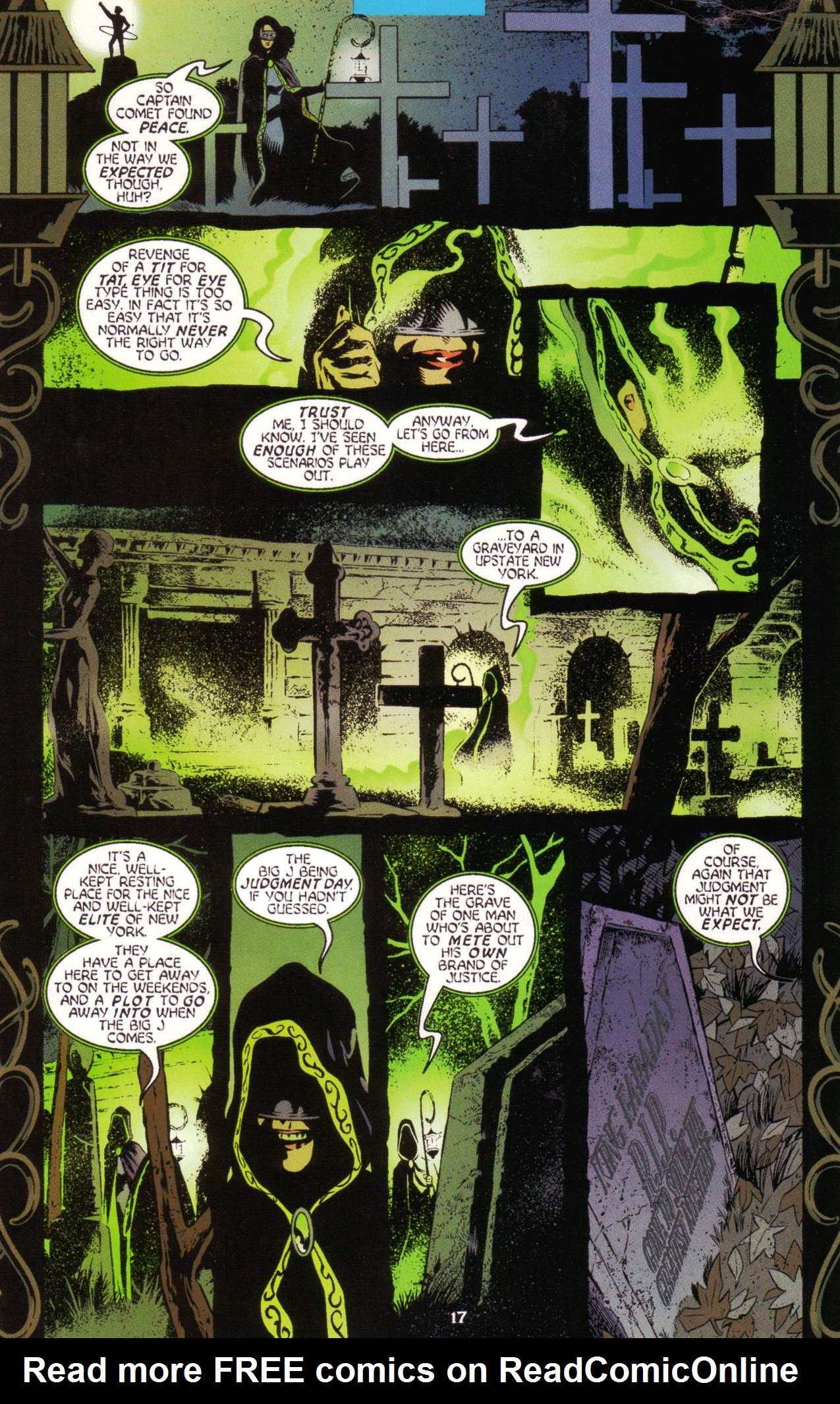 Read online Tangent Comics/ Green Lantern comic -  Issue # Full - 18
