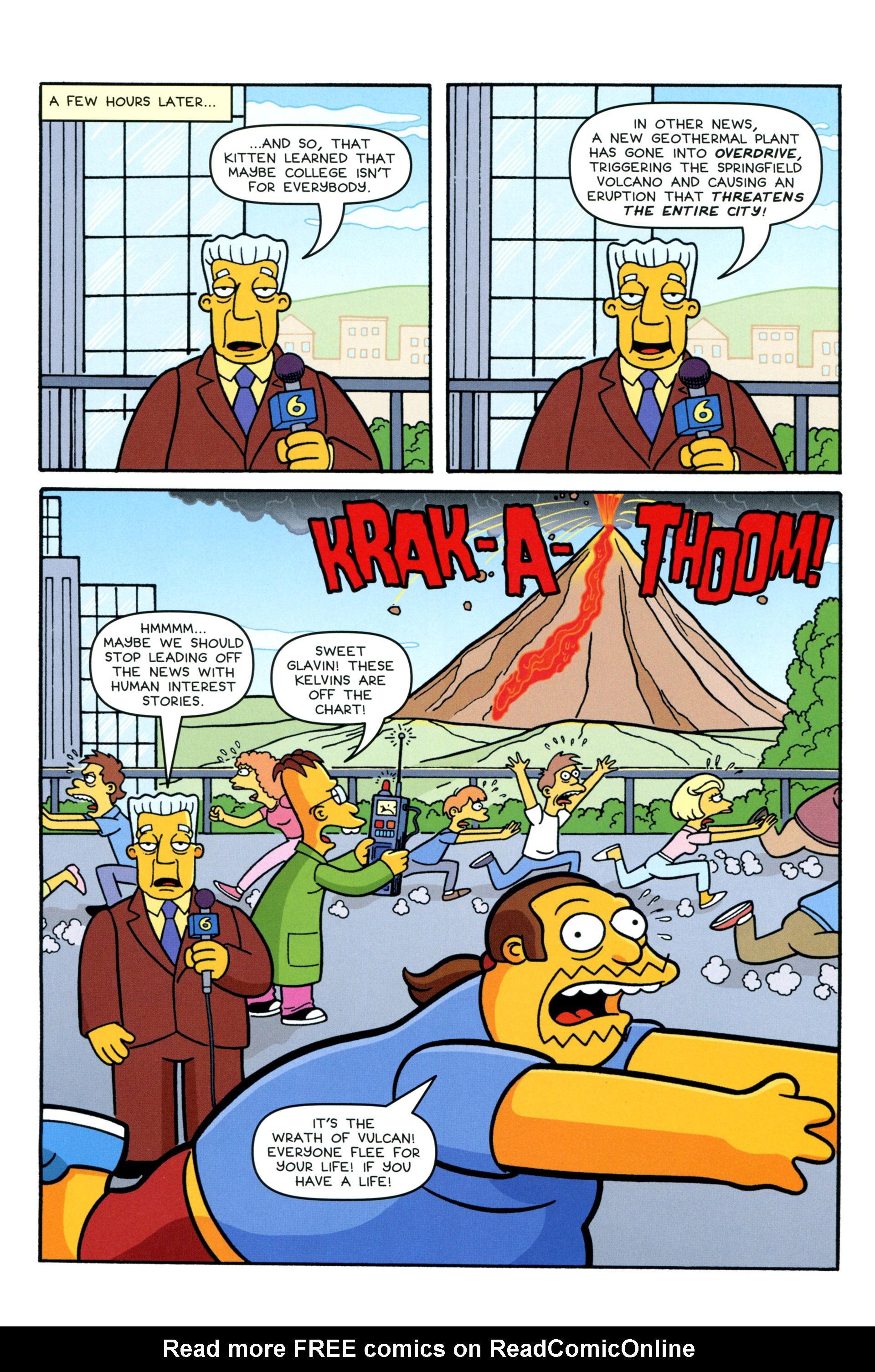 Read online Simpsons Comics comic -  Issue #206 - 8