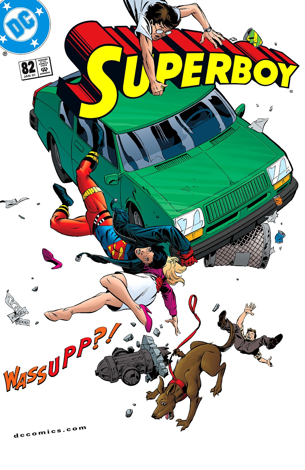 Superboy (1994) 82 Page 1