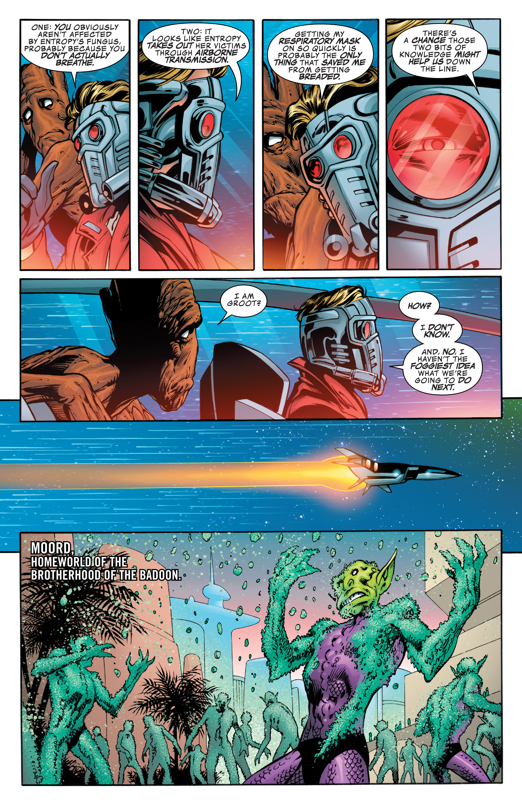 Read online Guardians of the Galaxy: Mother Entropy comic -  Issue #4 - 17