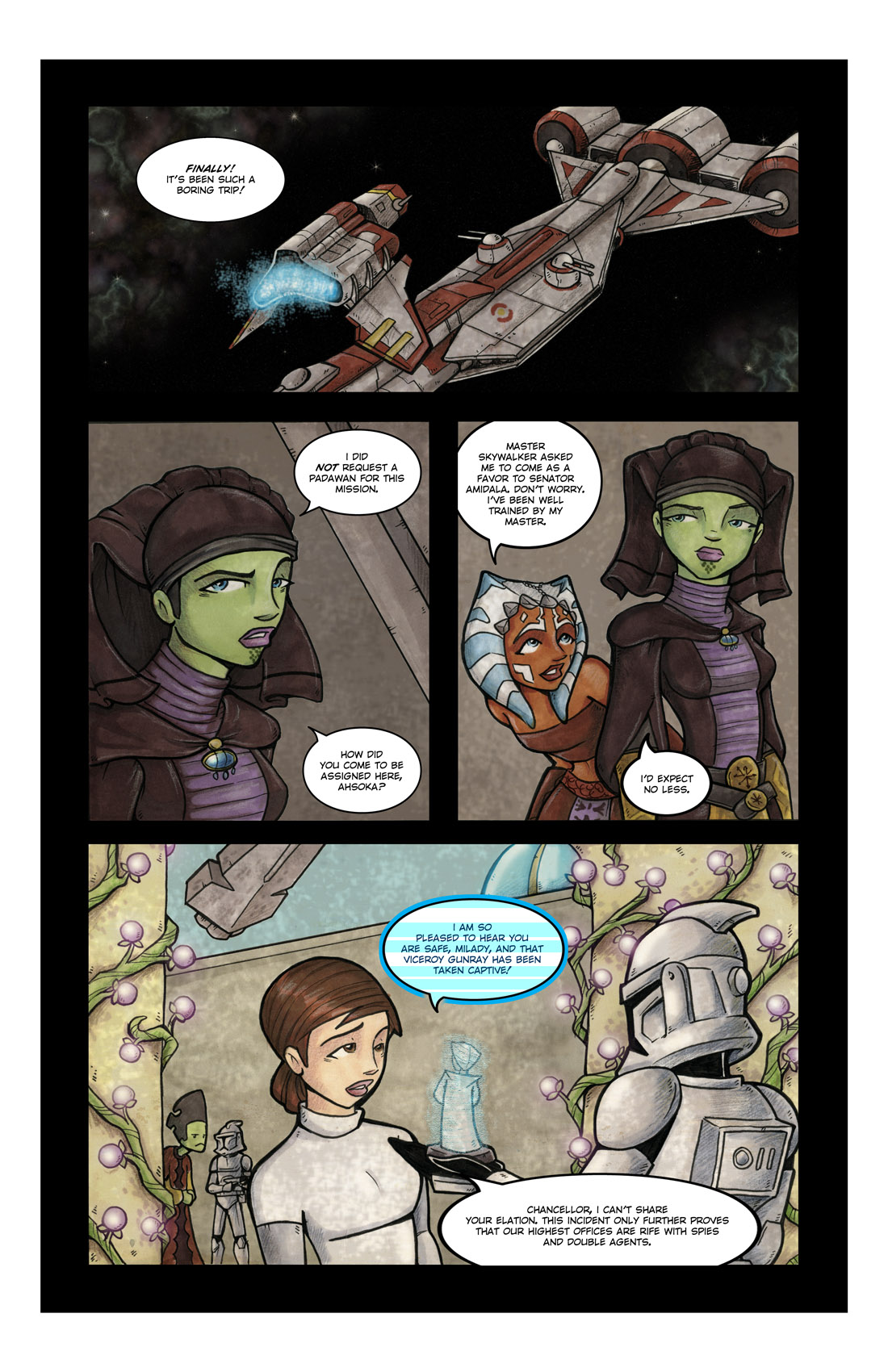 Read online Star Wars: Tales From The Clone Wars comic -  Issue # TPB - 65
