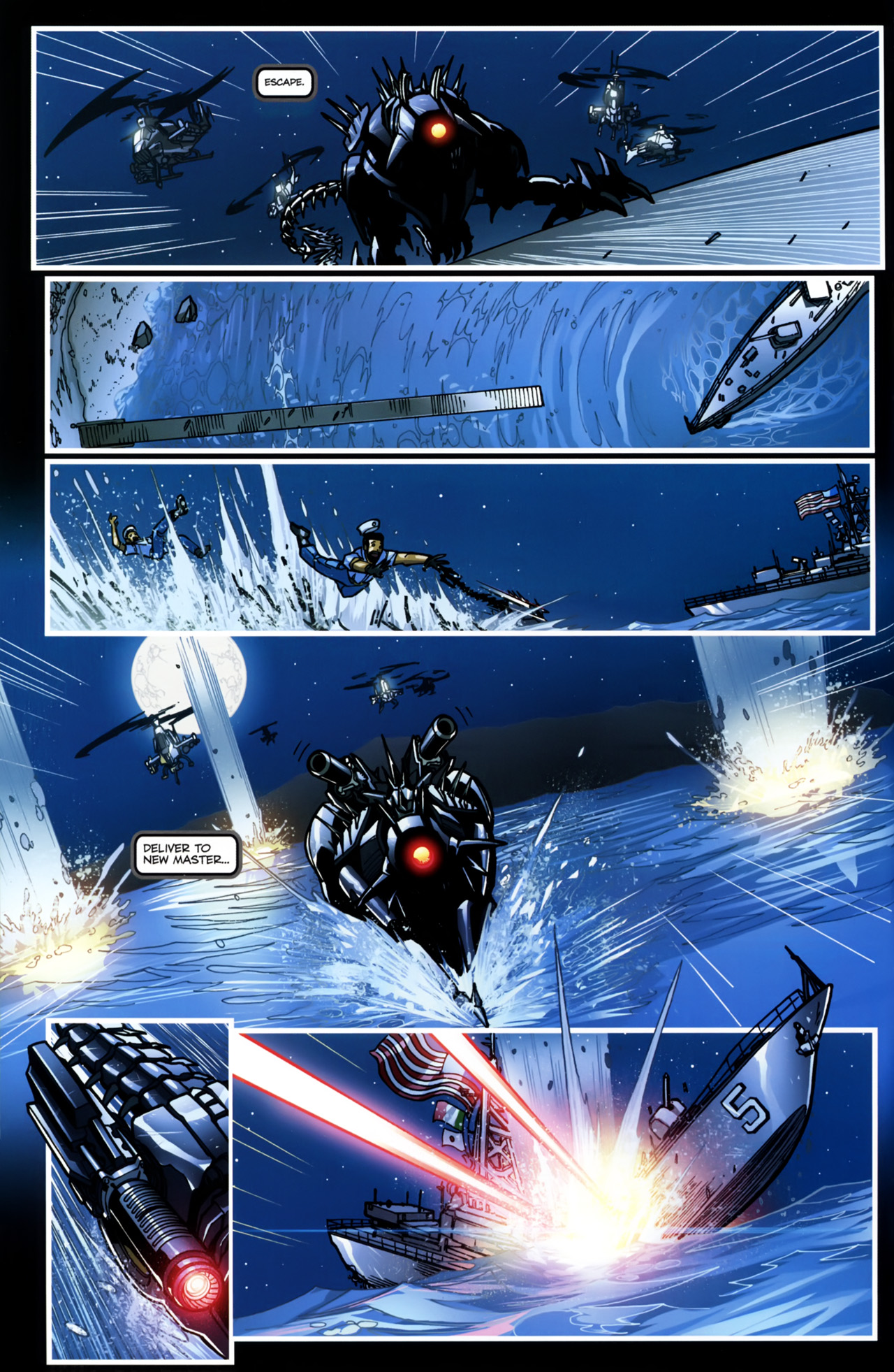 Read online Transformers: Tales of The Fallen comic -  Issue #5 - 8