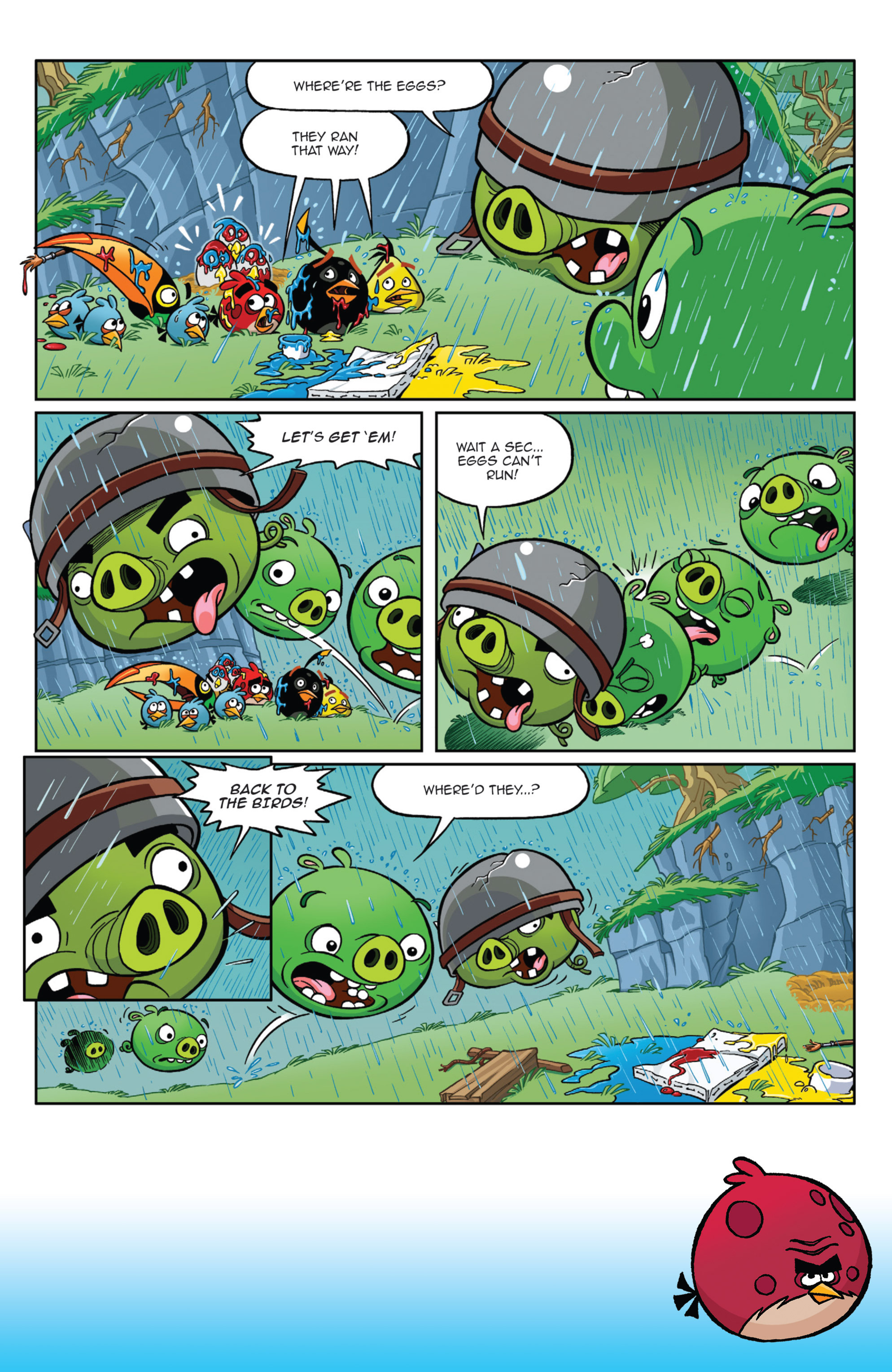 Read online Angry Birds Comics (2014) comic -  Issue #9 - 10