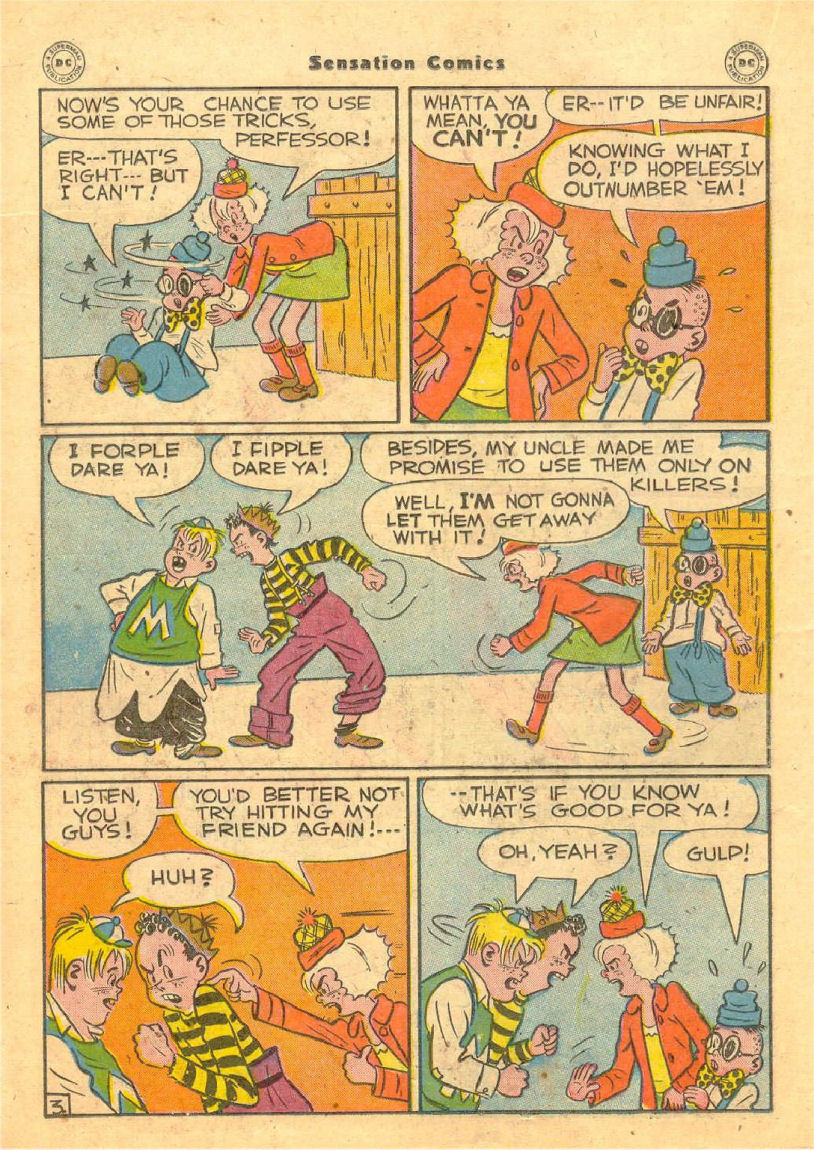 Read online Sensation (Mystery) Comics comic -  Issue #70 - 23
