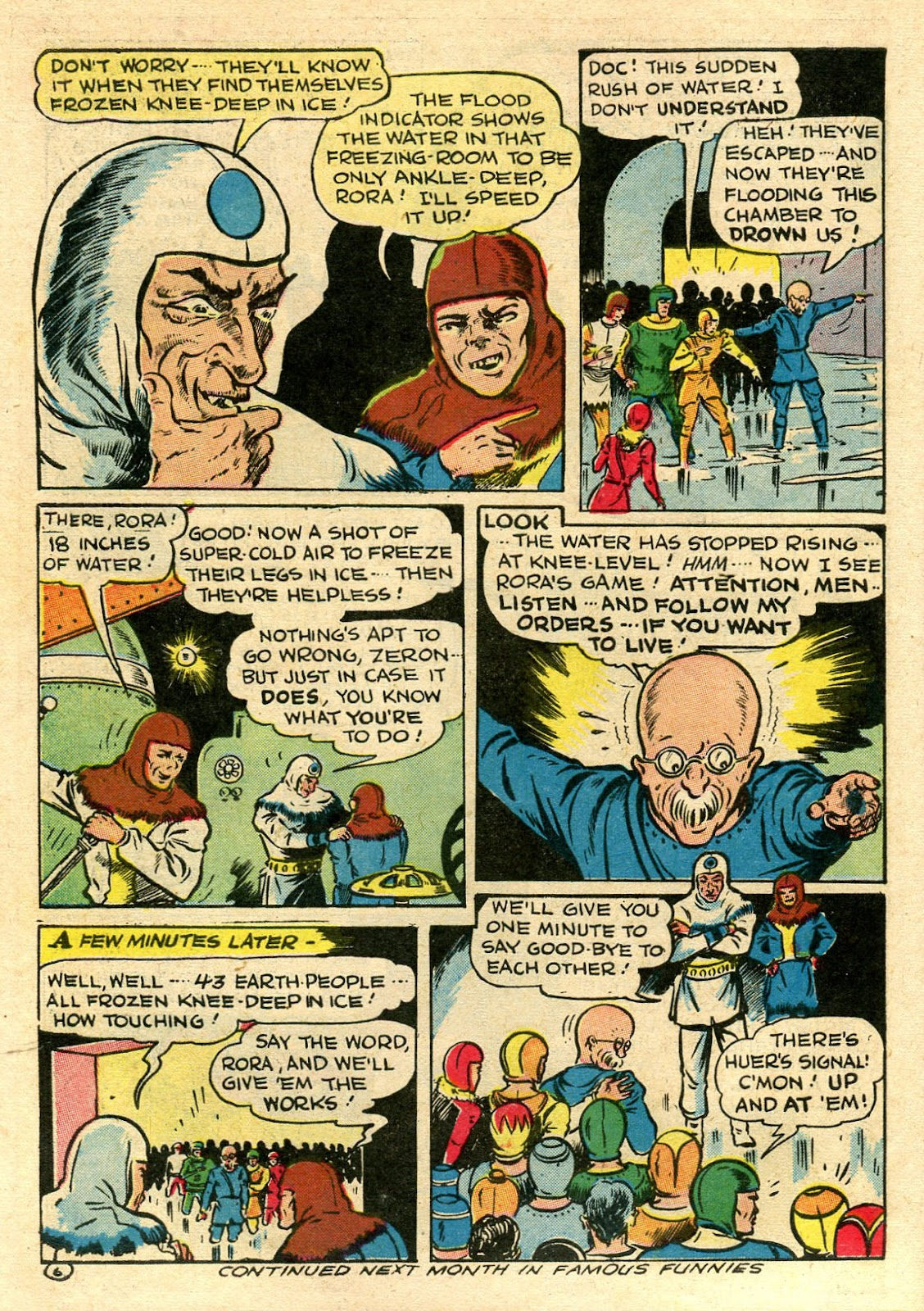 Read online Famous Funnies comic -  Issue #106 - 8
