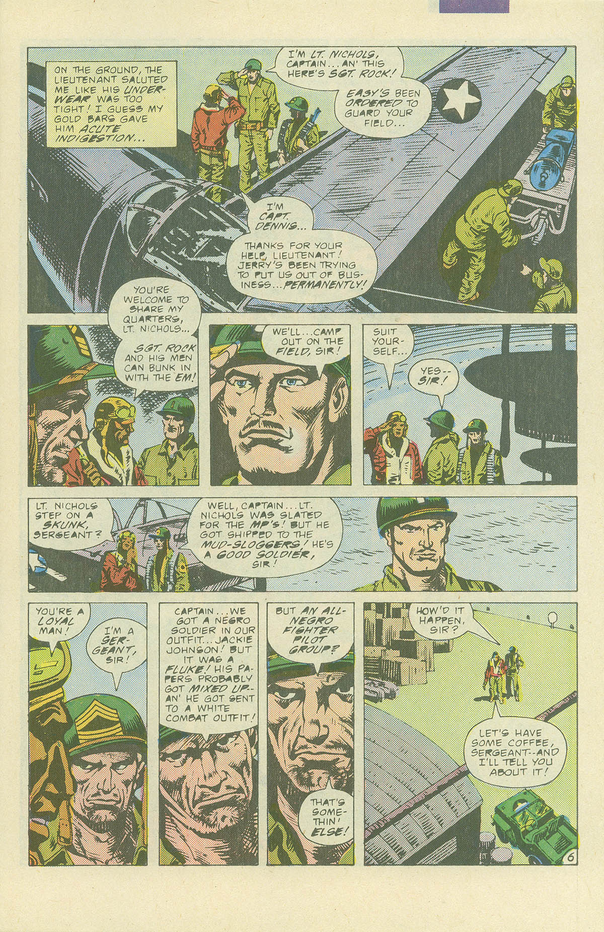 Read online Sgt. Rock comic -  Issue #405 - 8