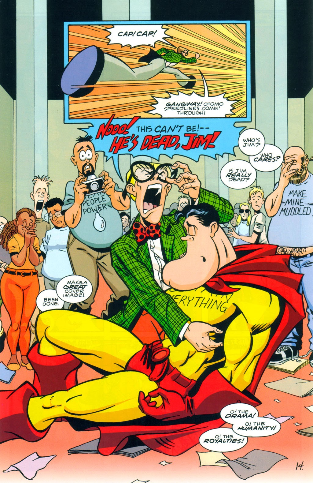 Read online Normalman 20th Anniversary Special comic -  Issue # Full - 16
